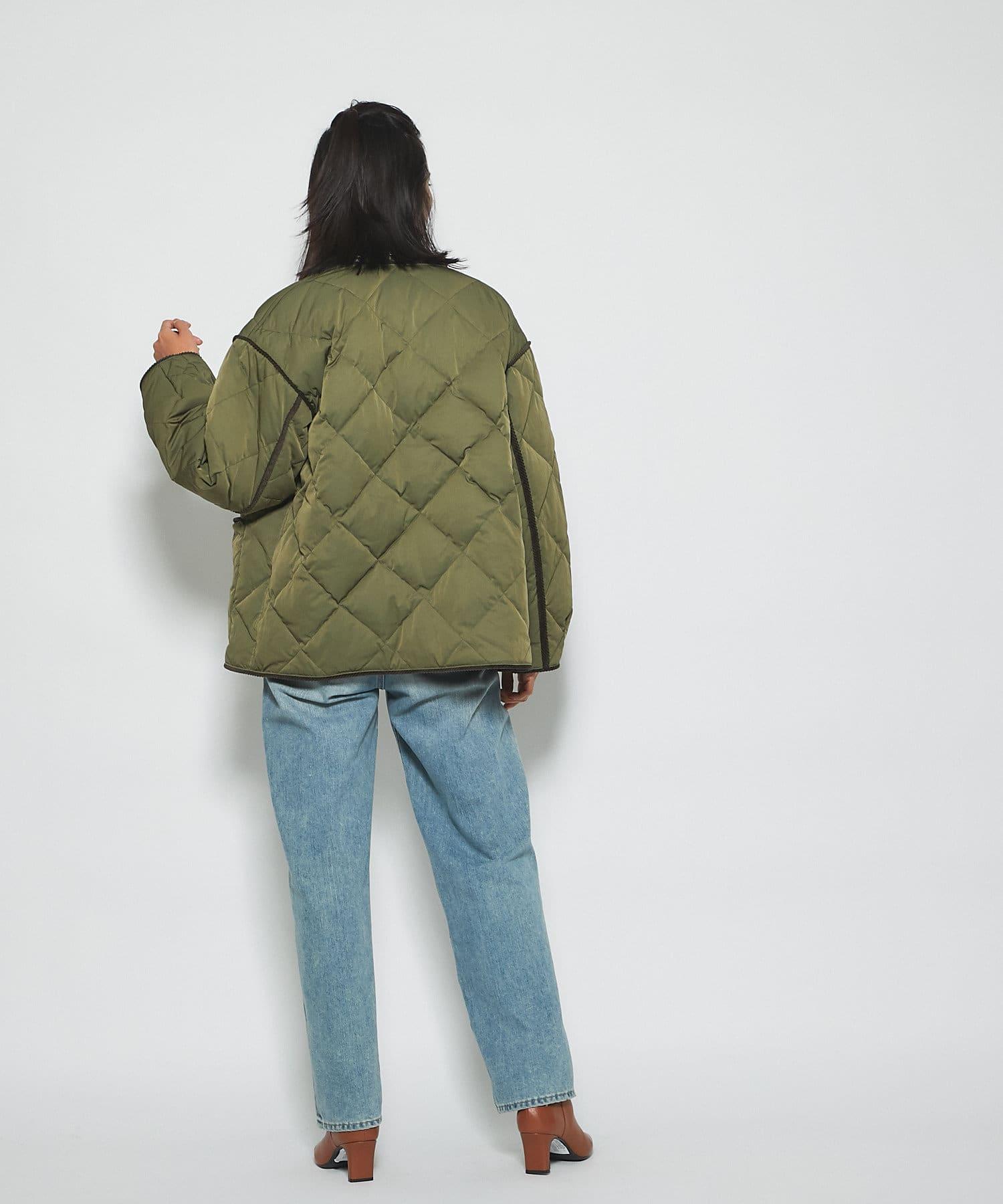 RIVE DROITE(リヴドロワ) 【羽織るだけでいつものスタイリングが新鮮に】キルティングジャケット