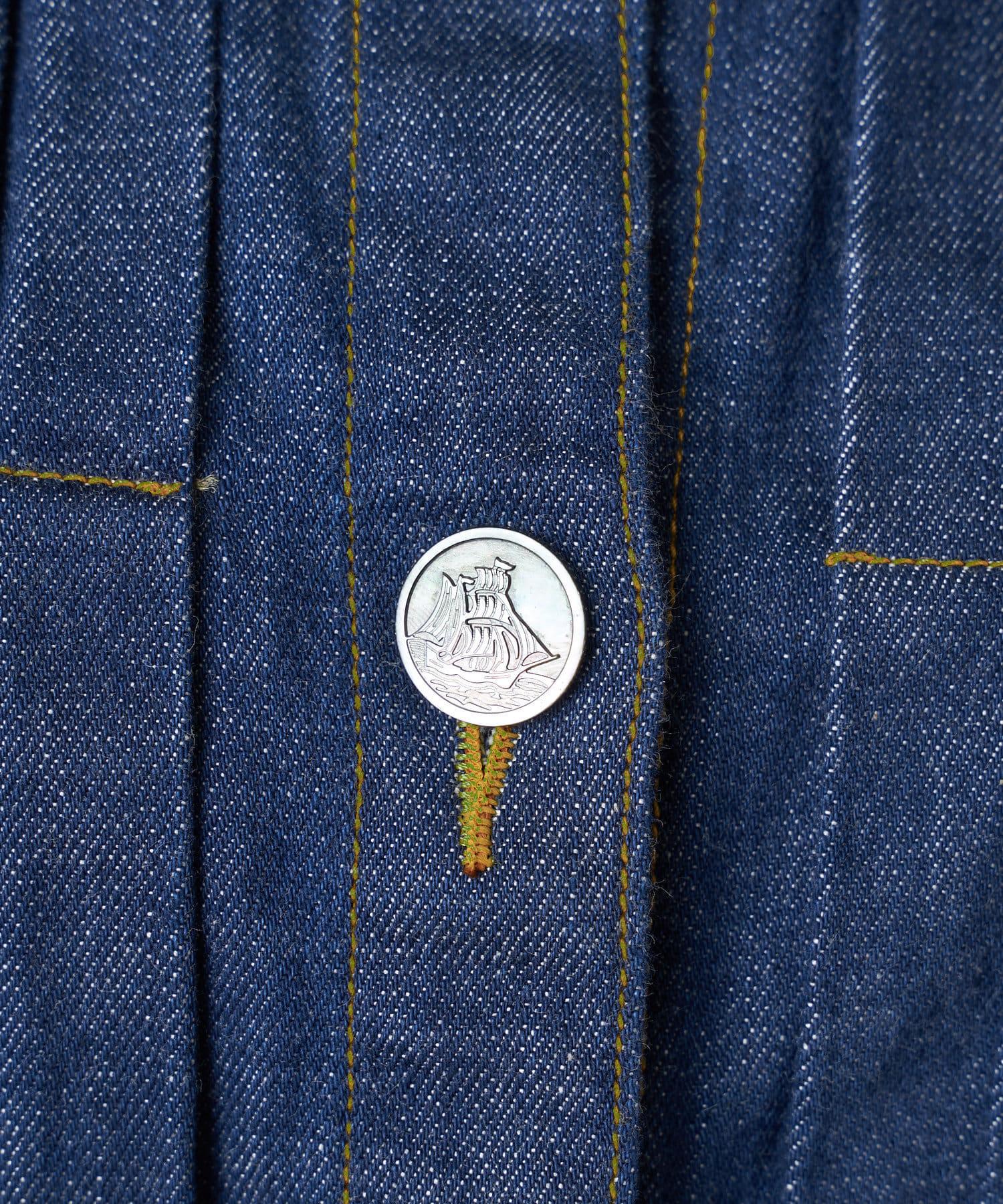 BEARDSLEY(ビアズリー) 《予約》プックリデニムジャケット