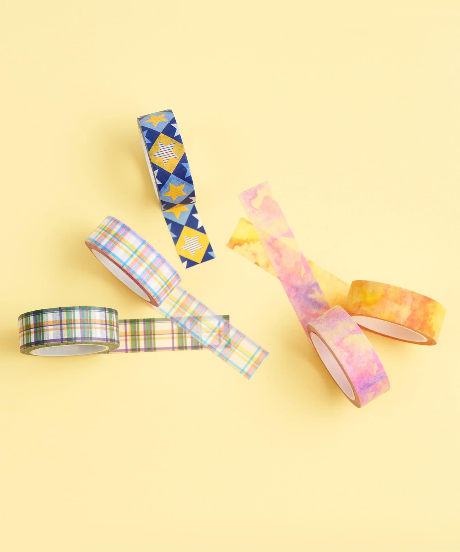 3COINS(スリーコインズ) 【ASOKO】【WEB限定セット】マスキングテープ5個セット
