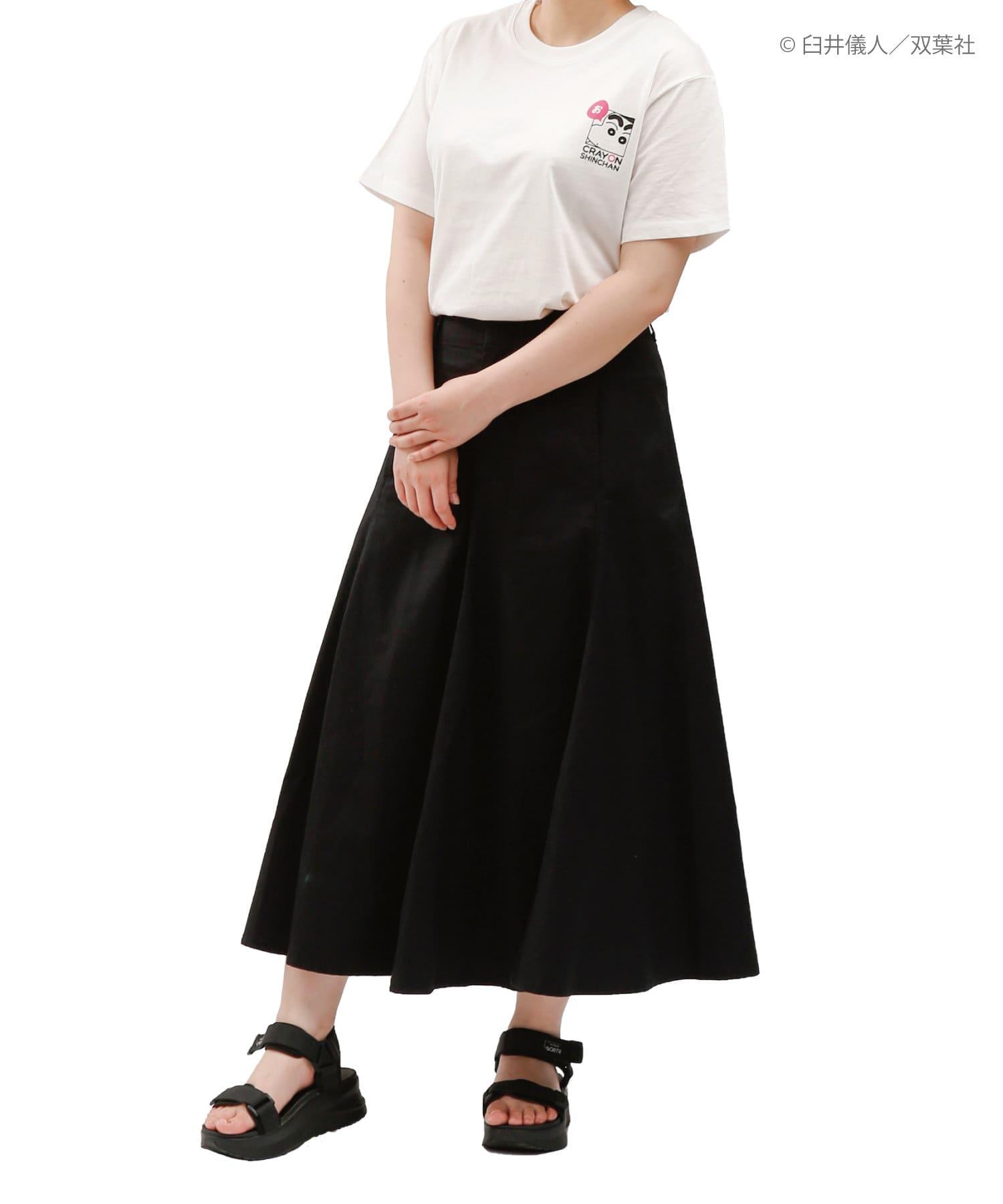 3COINS(スリーコインズ) 【ASOKO】【クレヨンしんちゃん】Tシャツ(フリーサイズ)