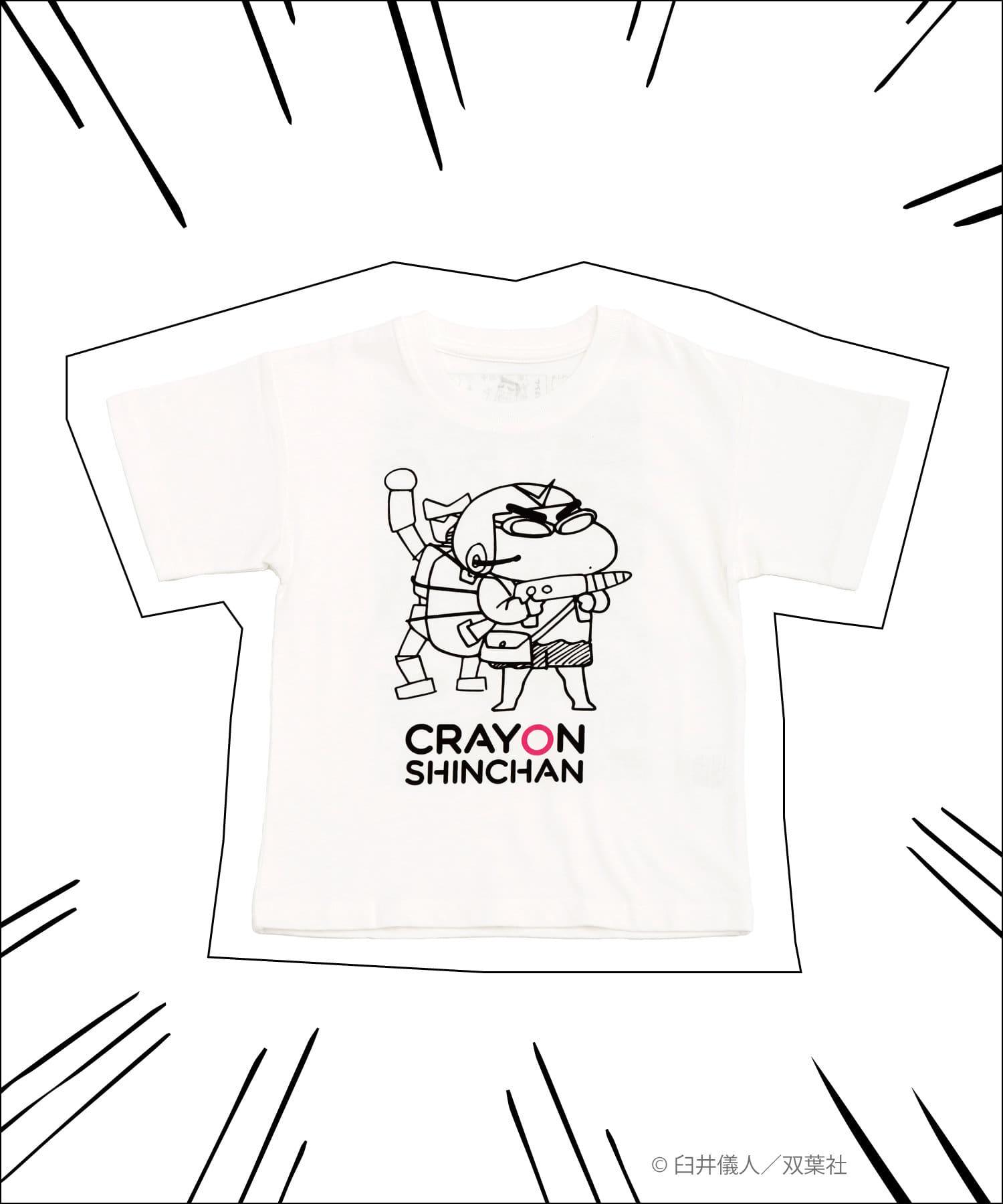 3COINS(スリーコインズ) 【ASOKO】【クレヨンしんちゃん】キッズTシャツ(110/130cm)