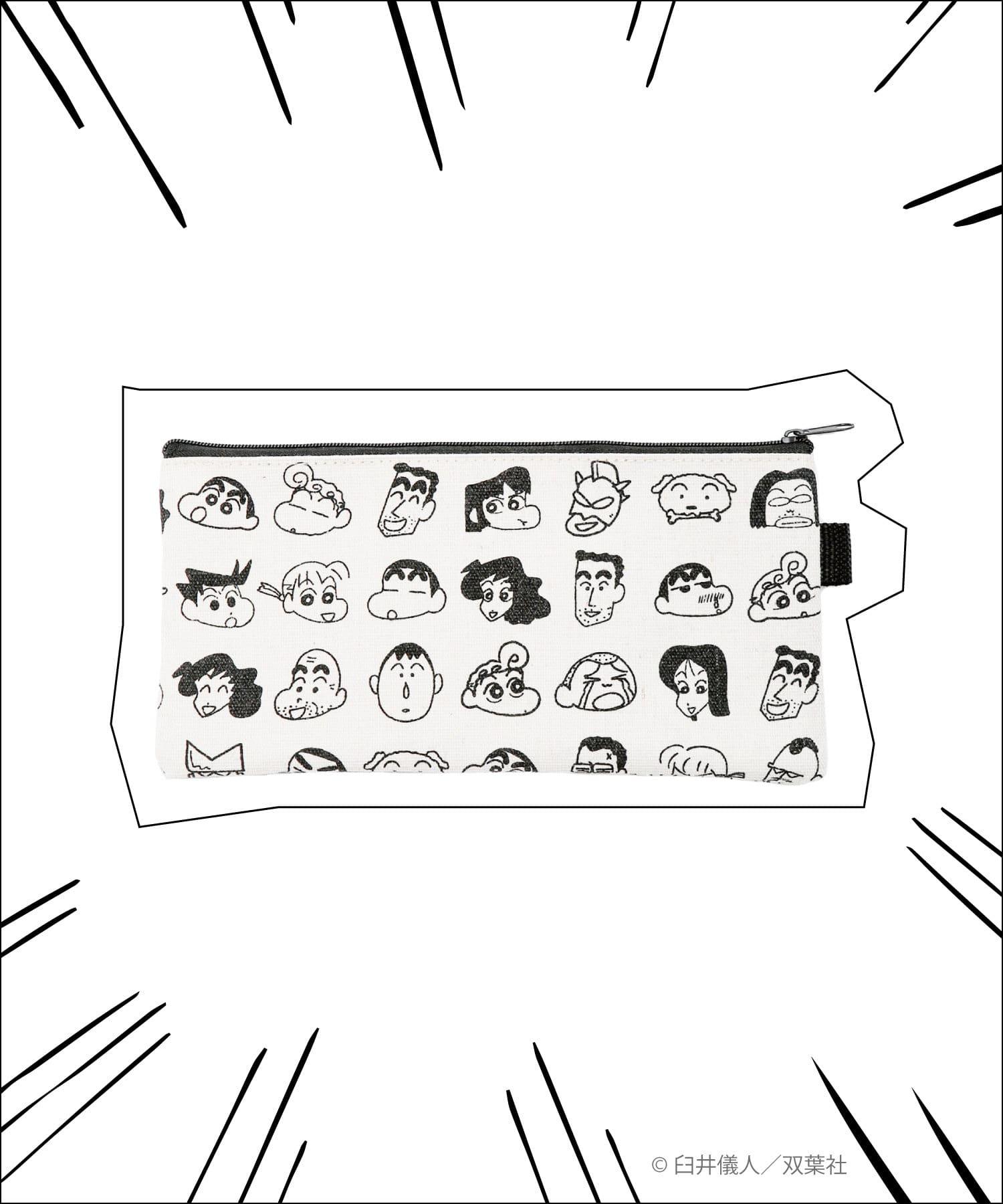 3COINS(スリーコインズ) 【ASOKO】【クレヨンしんちゃん】ペンケース