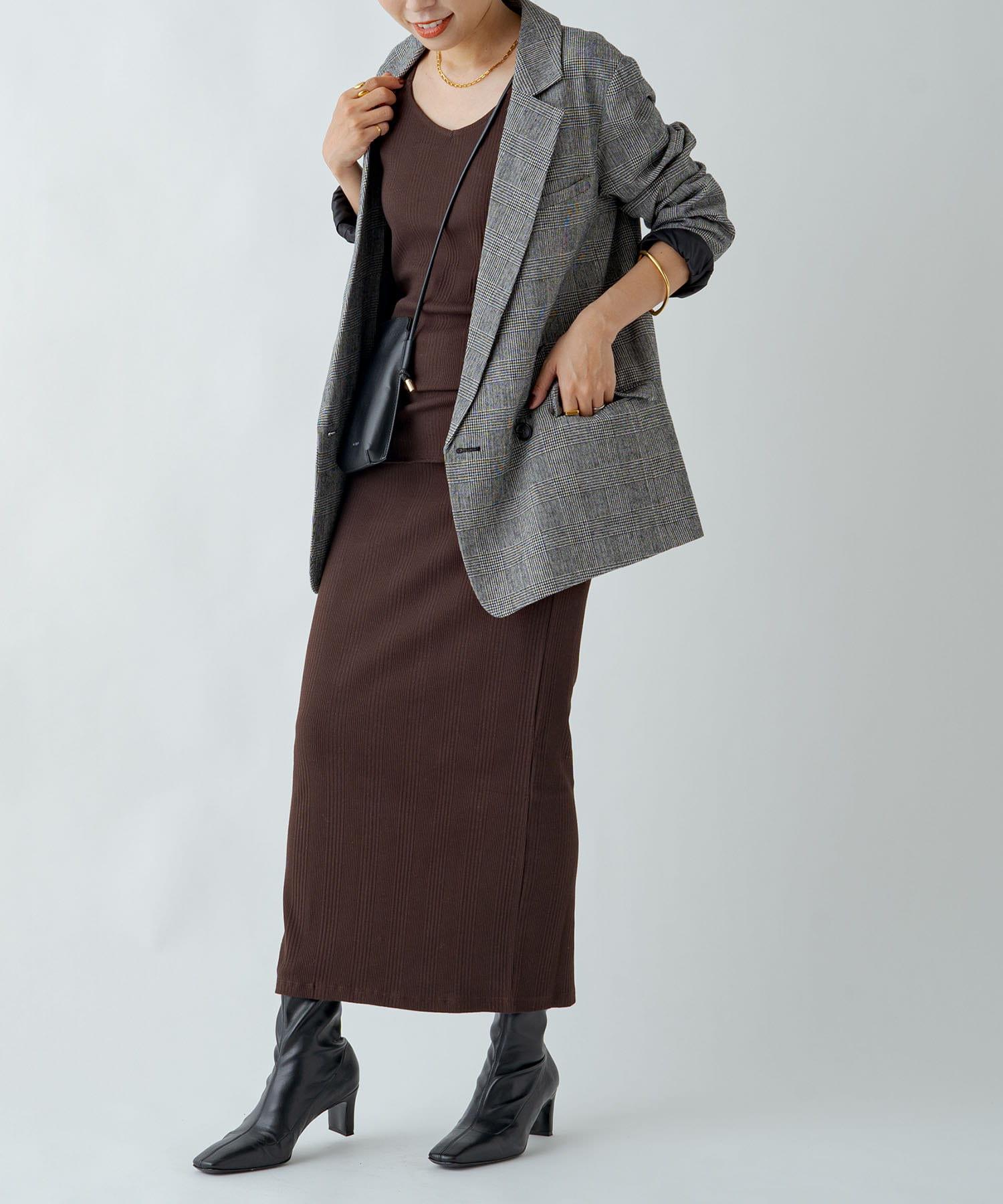 Loungedress(ラウンジドレス) チェックジャケット
