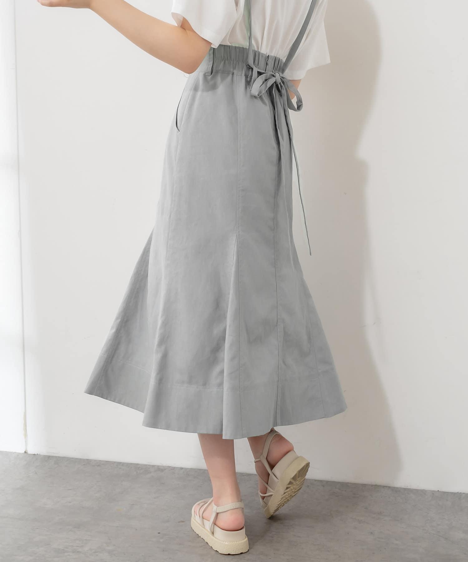 OLIVE des OLIVE(オリーブ デ オリーブ) 品良く決まるサス付マーメイドスカート