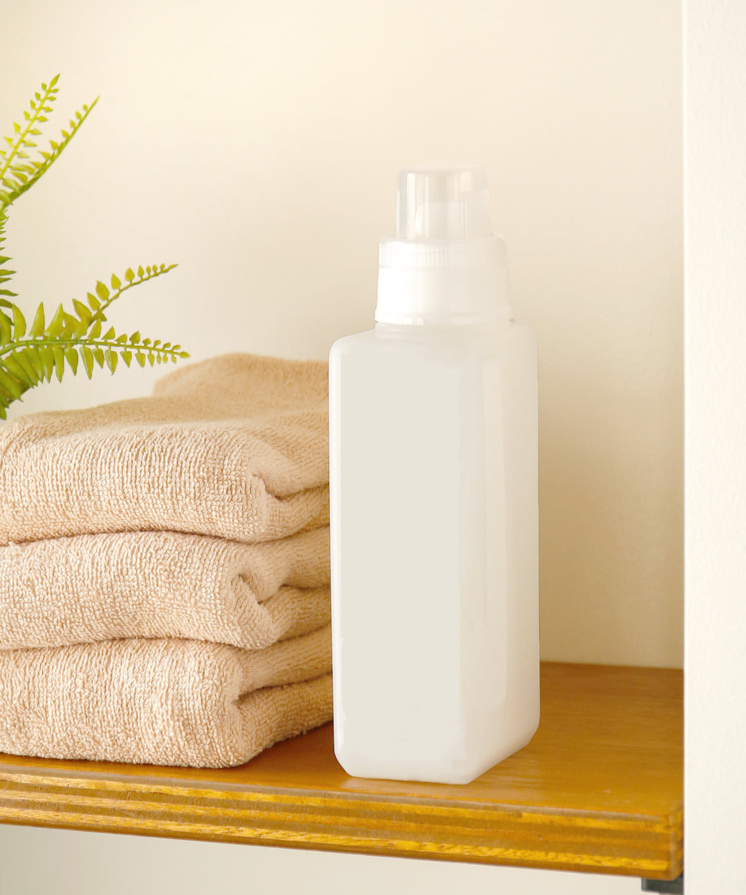 3COINS(スリーコインズ) ライフスタイル 洗剤ボトル:500ml ホワイト