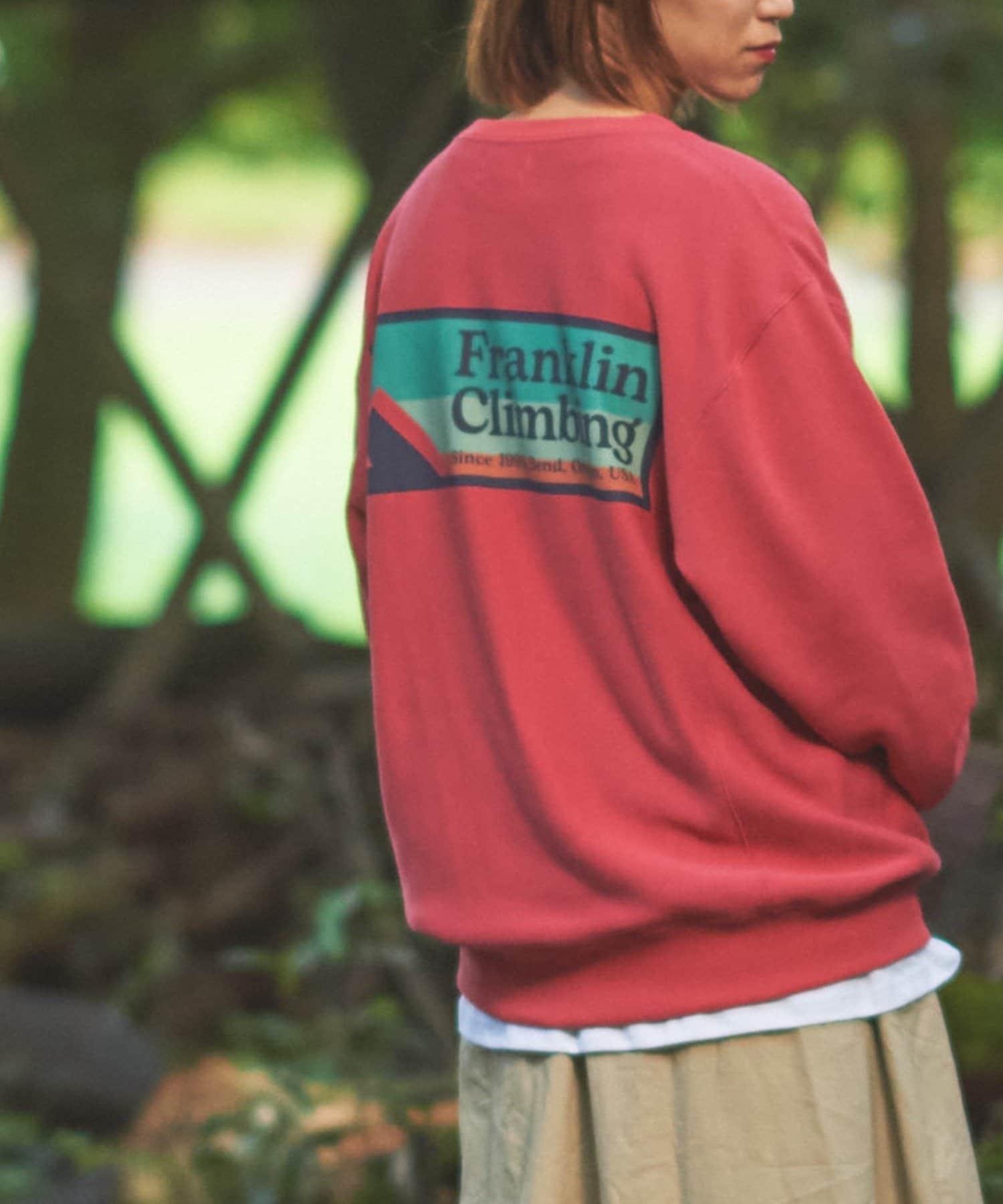 CIAOPANIC TYPY(チャオパニックティピー) 【Franklin Climbing】ロゴスウェット