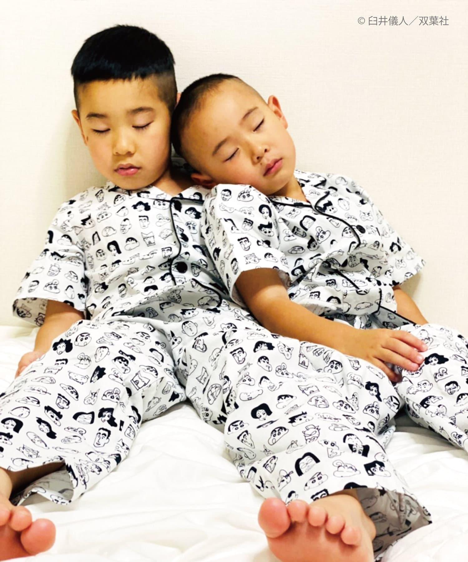 3COINS(スリーコインズ) 【ASOKO】【クレヨンしんちゃん】キッズパジャマ(110/130cm)
