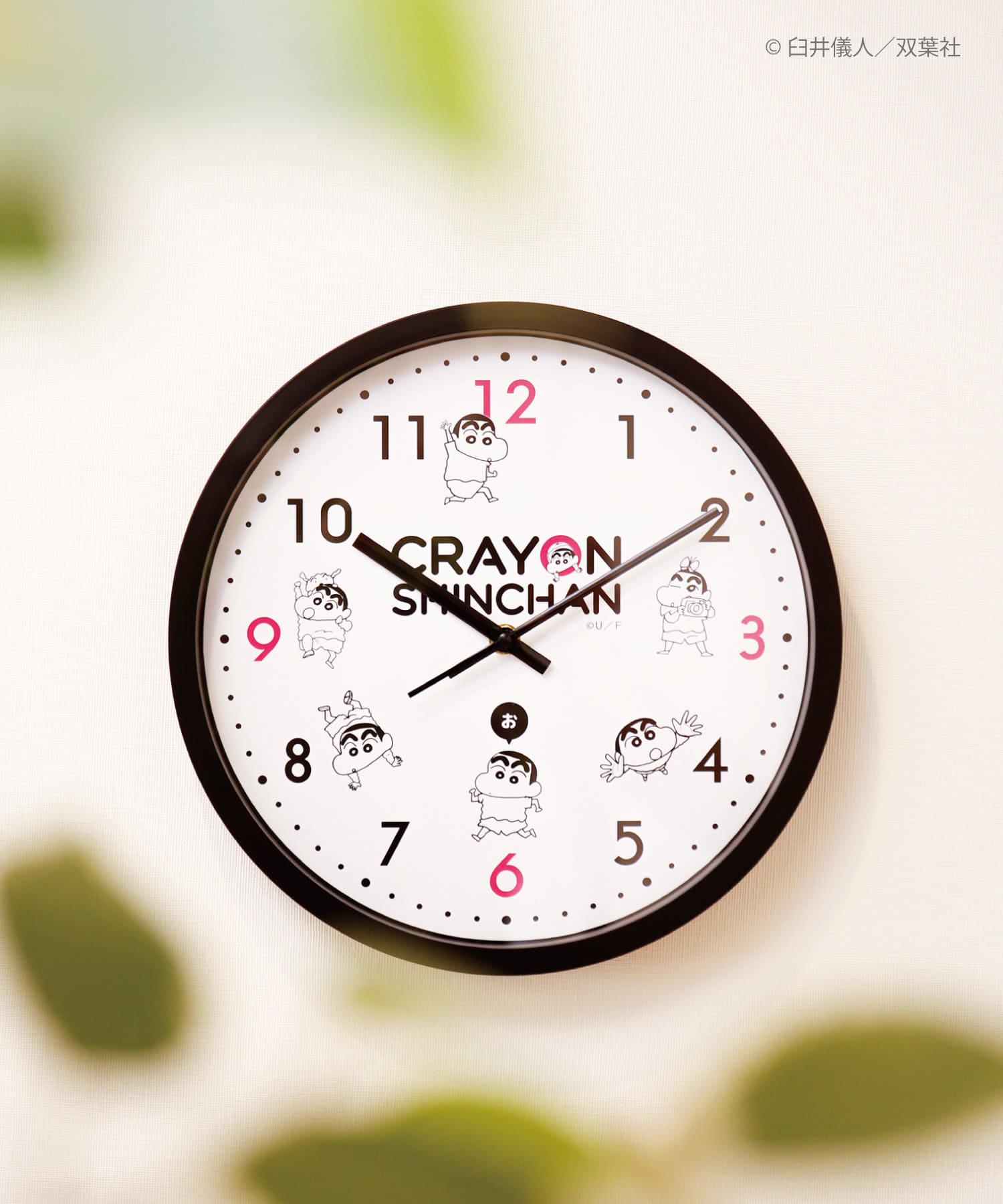 3COINS(スリーコインズ) 【ASOKO】【クレヨンしんちゃん】壁掛け時計