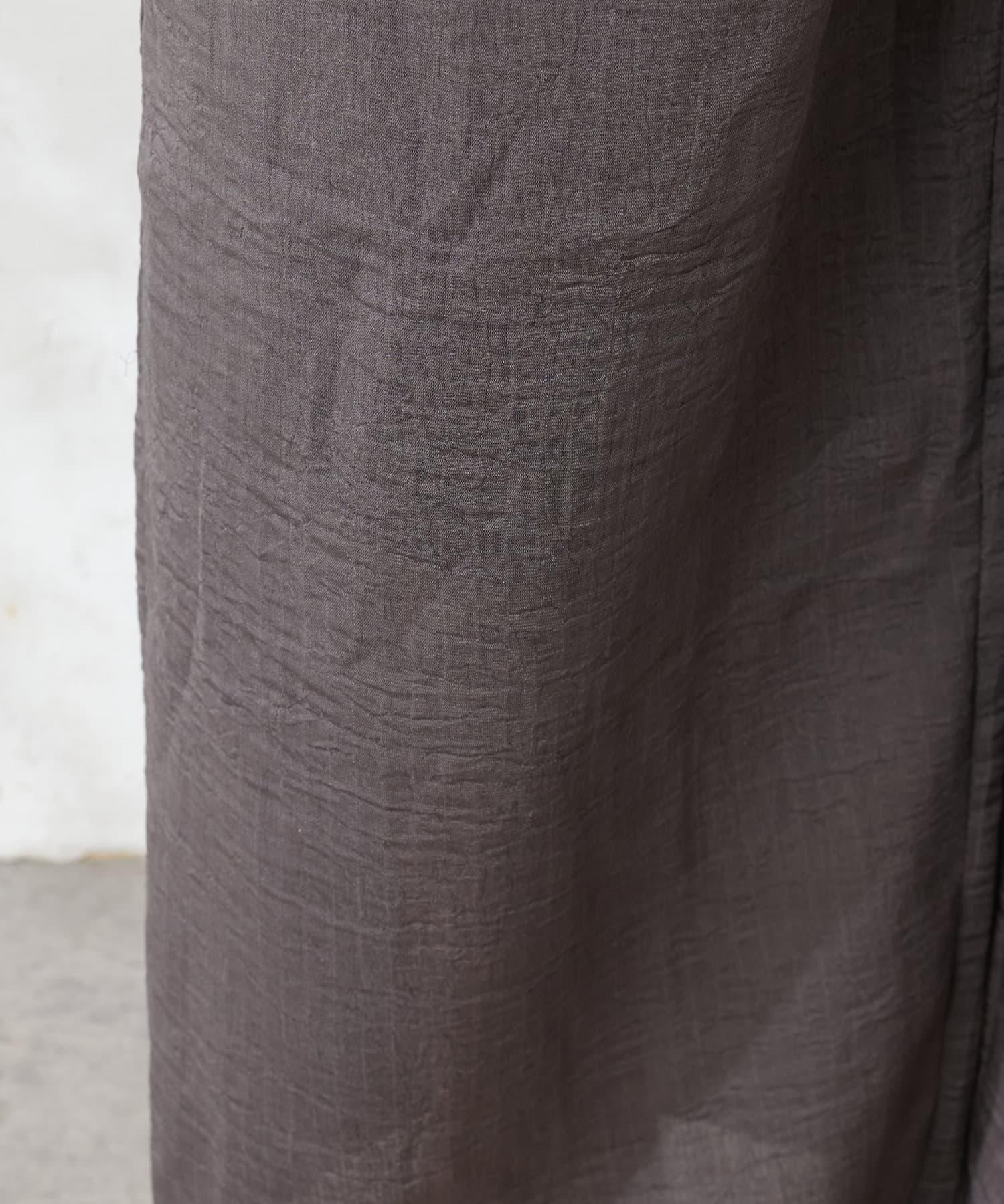 natural couture(ナチュラルクチュール) 【おうちナチュ】プリーツリラクシングパンツ