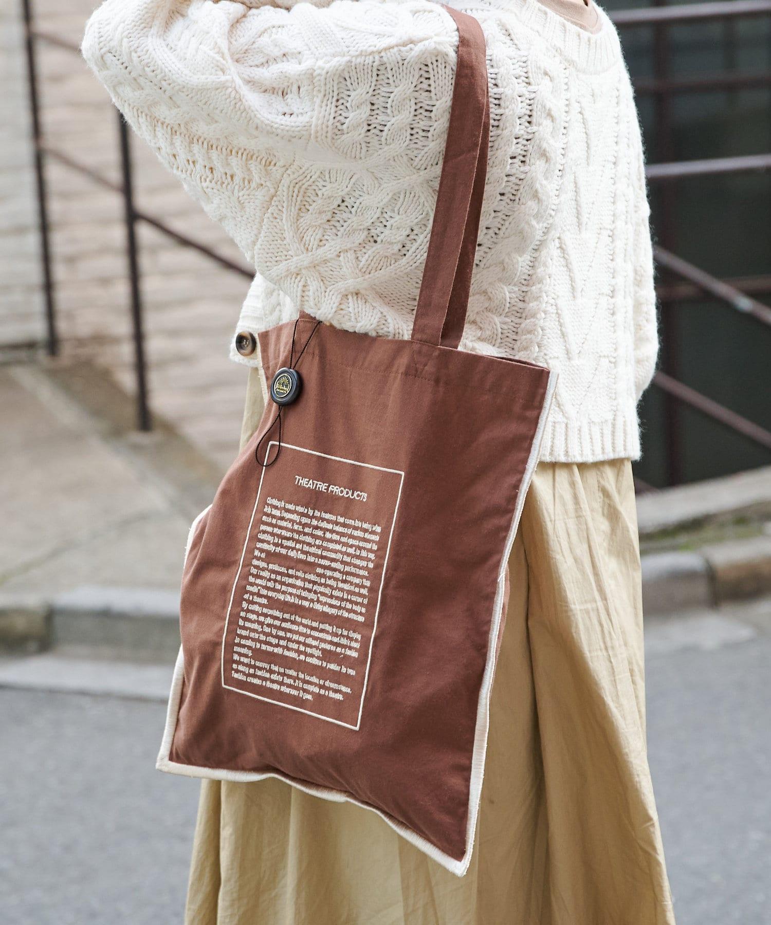Daily russet(デイリー ラシット) 【THEATRE PRODUCTS】インフルエンサーコラボトートバッグ