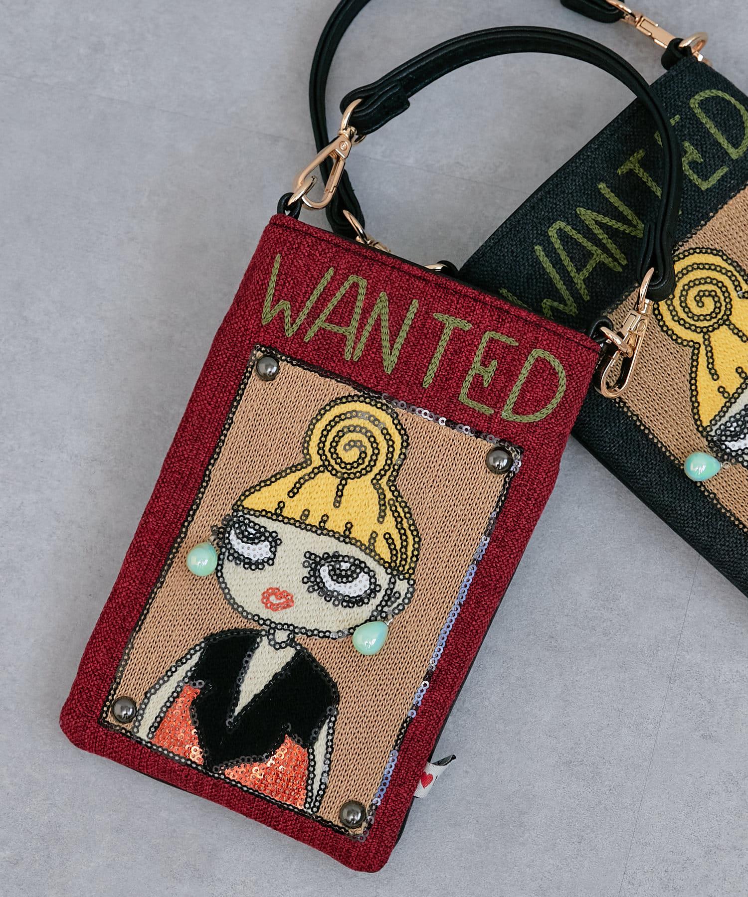 Pal collection(パルコレクション) 《個性派バッグ》ウォンテッドスマホバッグ