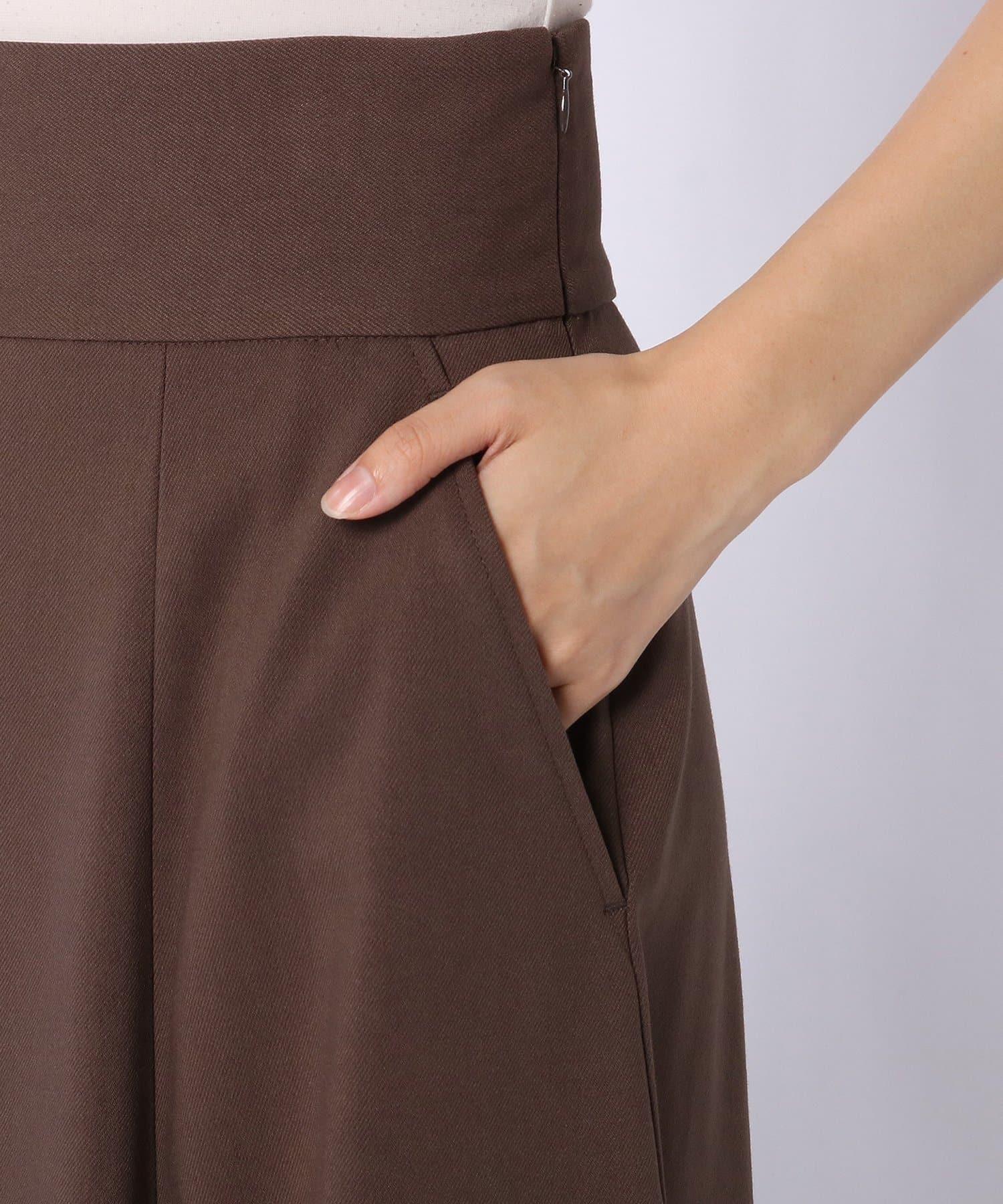 Lui's(ルイス) ワイドベルトフレアスカート