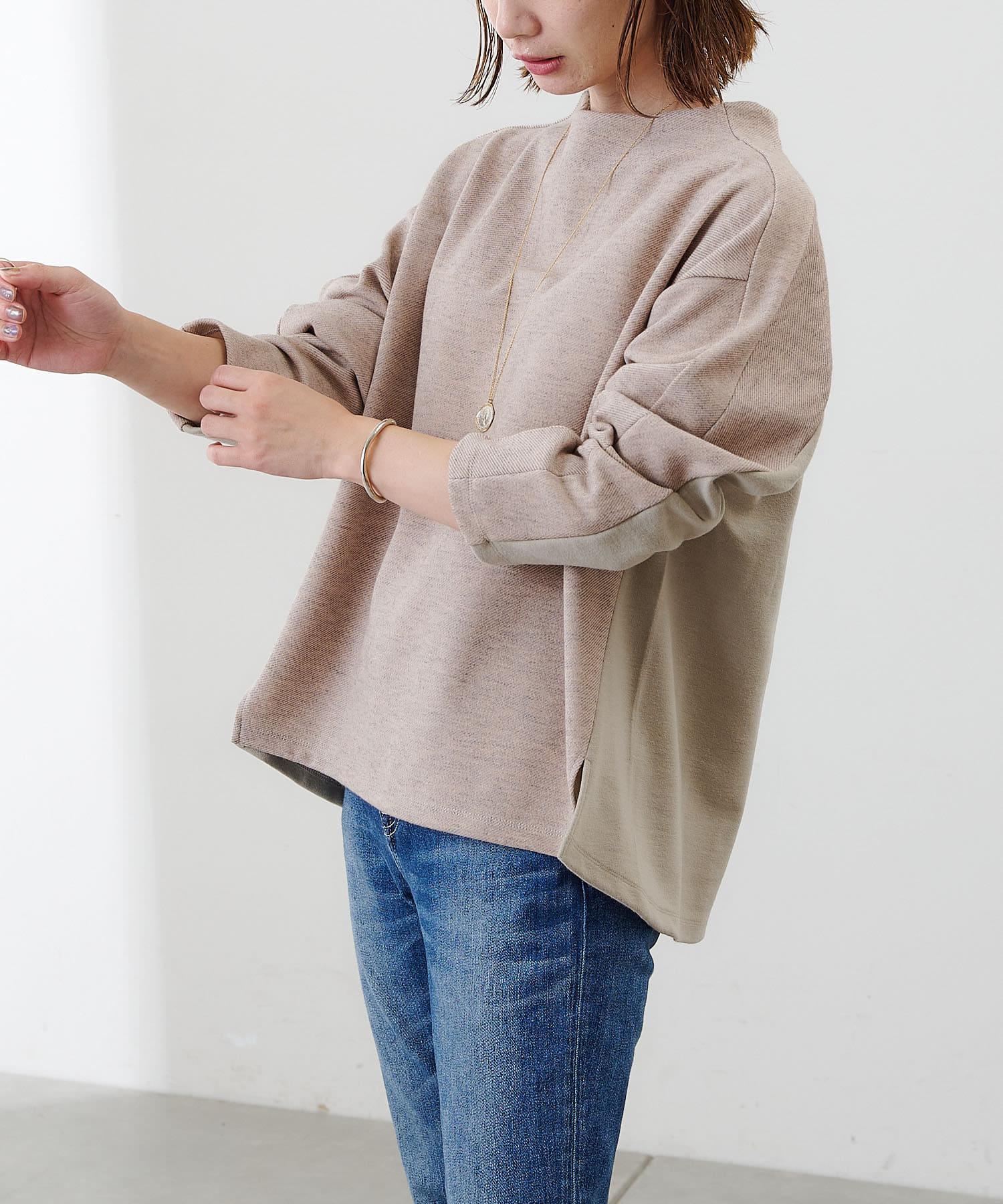 COLLAGE GALLARDAGALANTE(コラージュ ガリャルダガランテ) 【万能トップス】ボトルネックプルオーバー