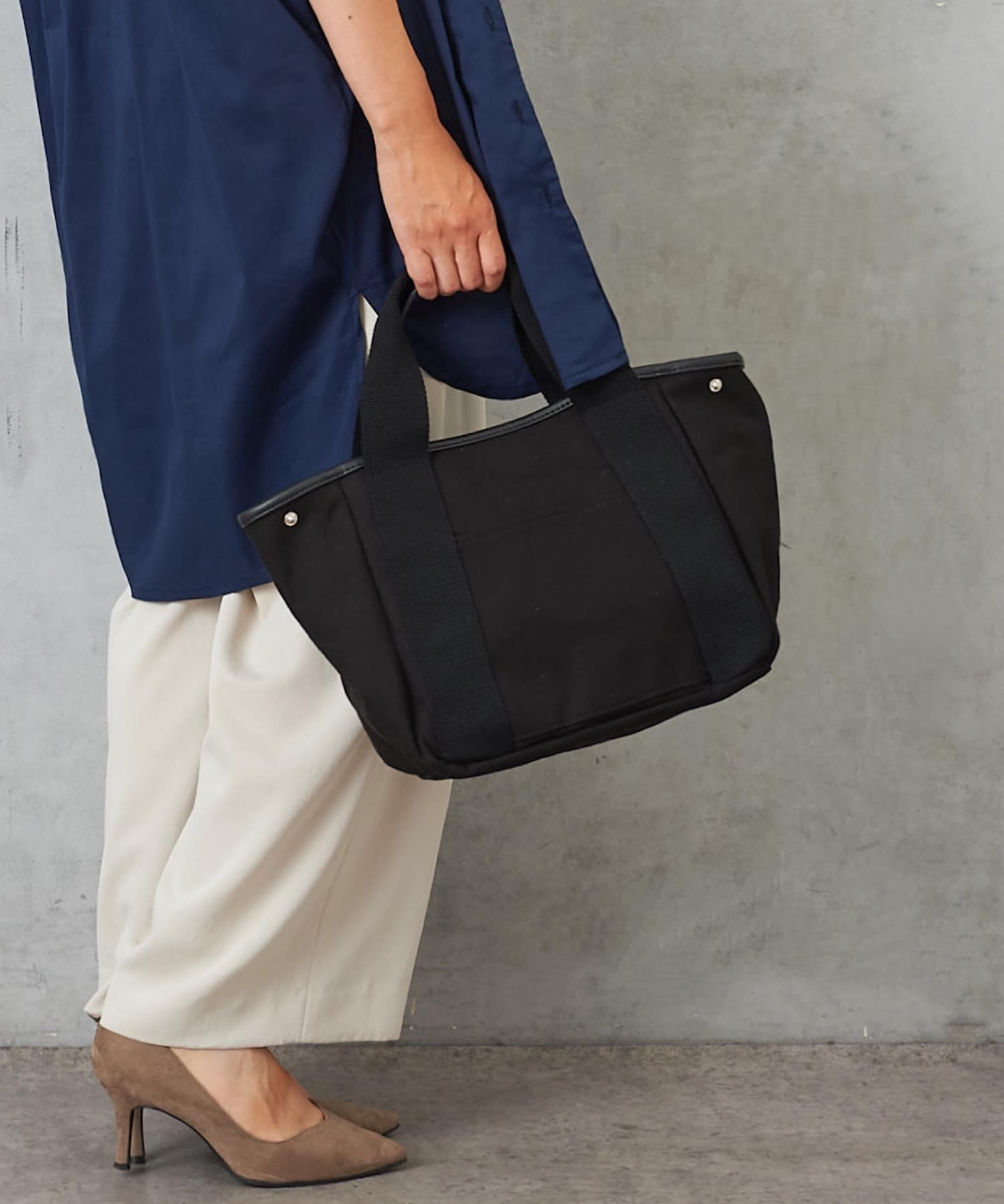 Pal collection(パルコレクション) 《新色追加!ポケット10個》キャンバストートバッグ