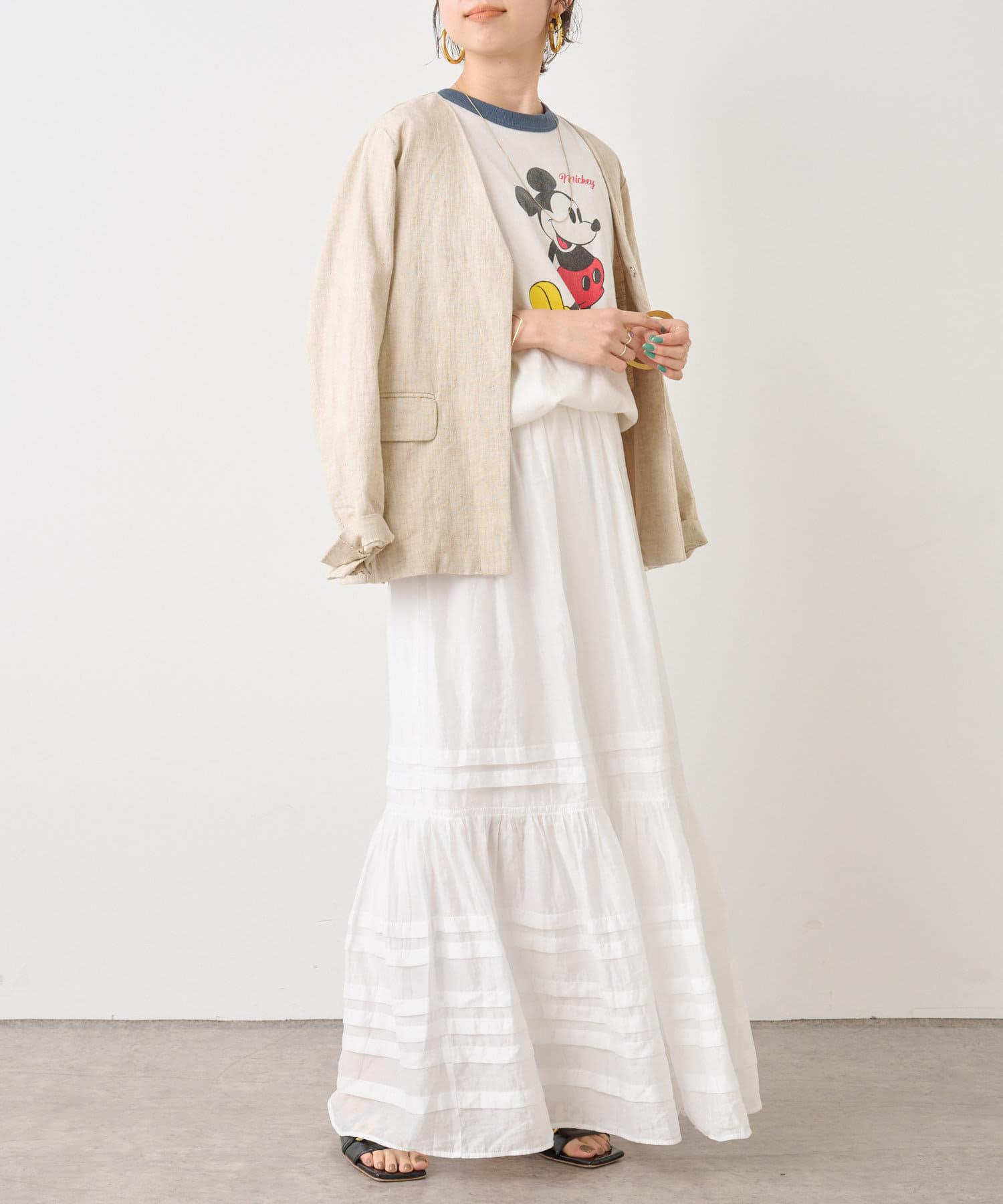Omekashi(オメカシ) タックティアードスカート