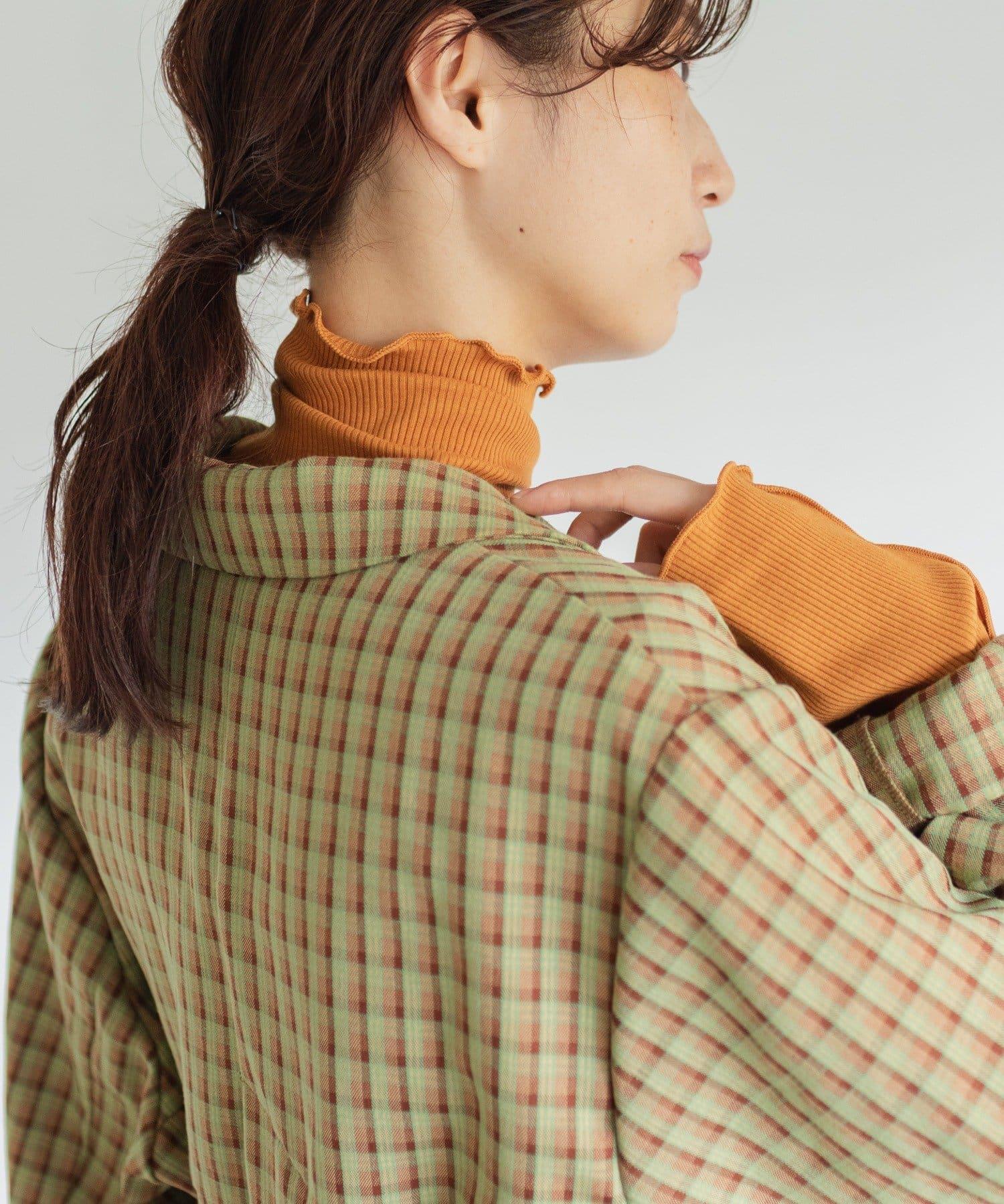 Kastane(カスタネ) 【WEB限定カラーあり】テレコメロウハイネックロンT