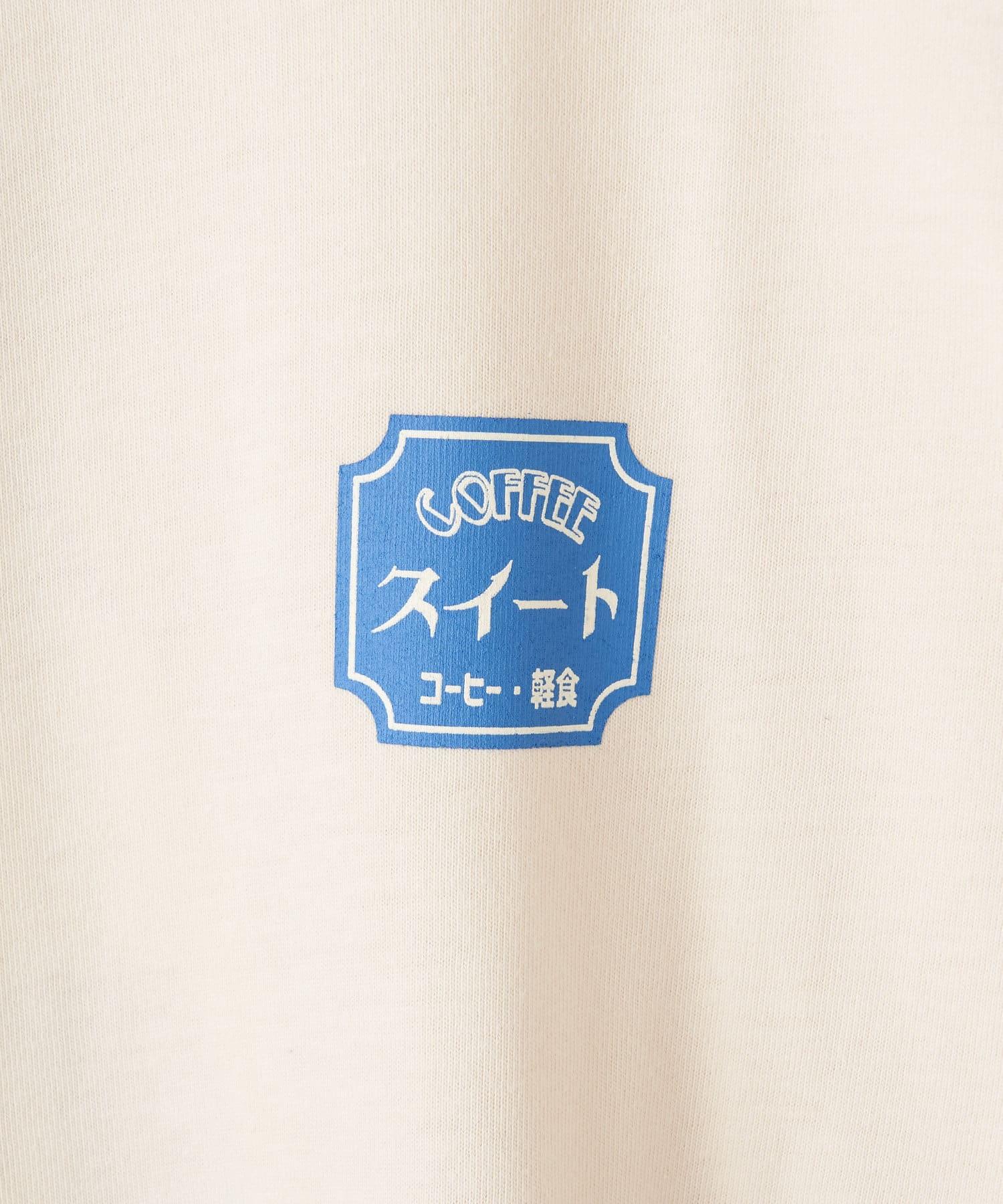 OLIVE des OLIVE OUTLET(オリーブ・デ・オリーブ アウトレット) 【Unconditional】純喫茶プリント BIGロンT