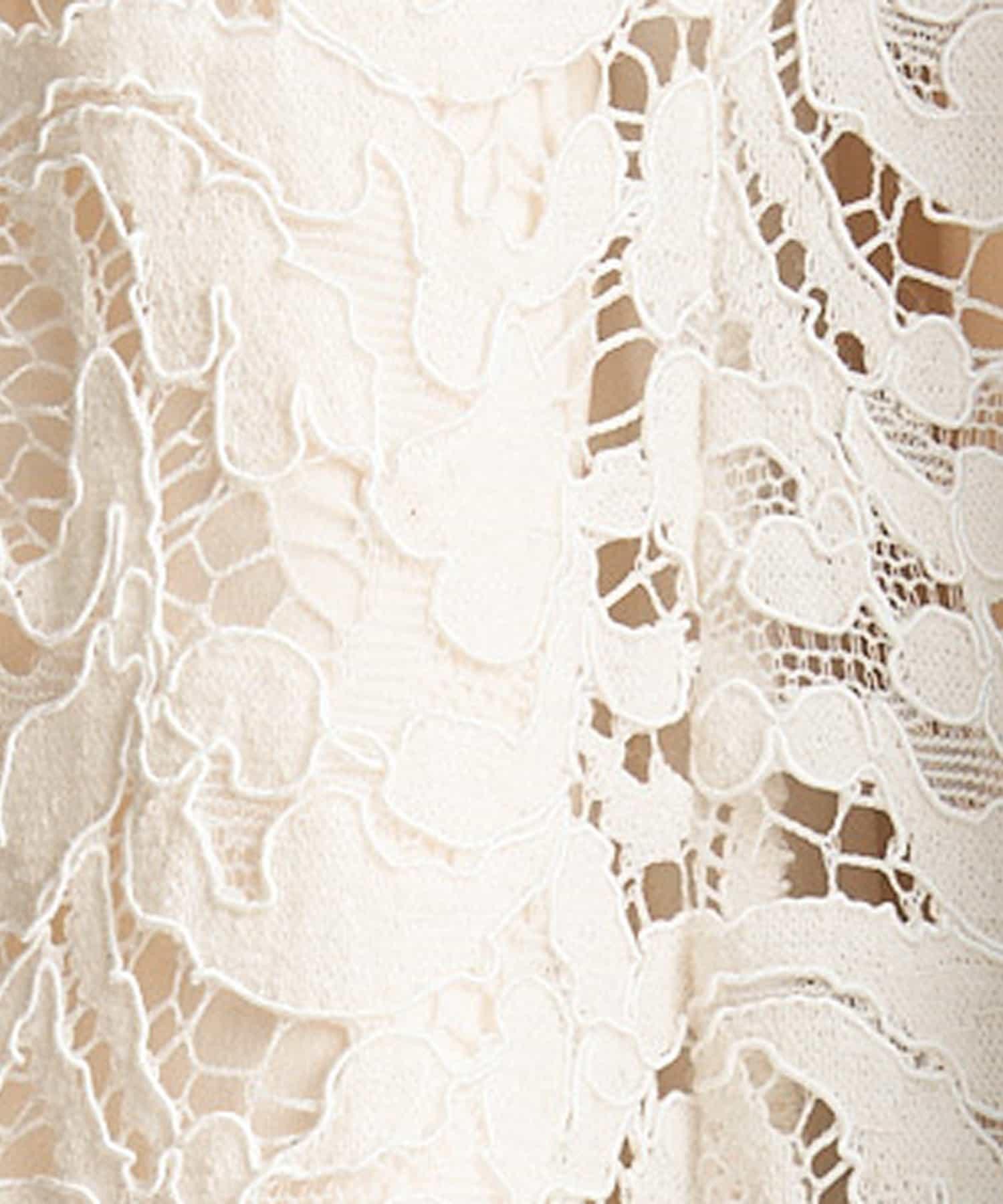 La boutique BonBon(ラブティックボンボン) 【XSもご用意】レースマーメイドマキシスカート
