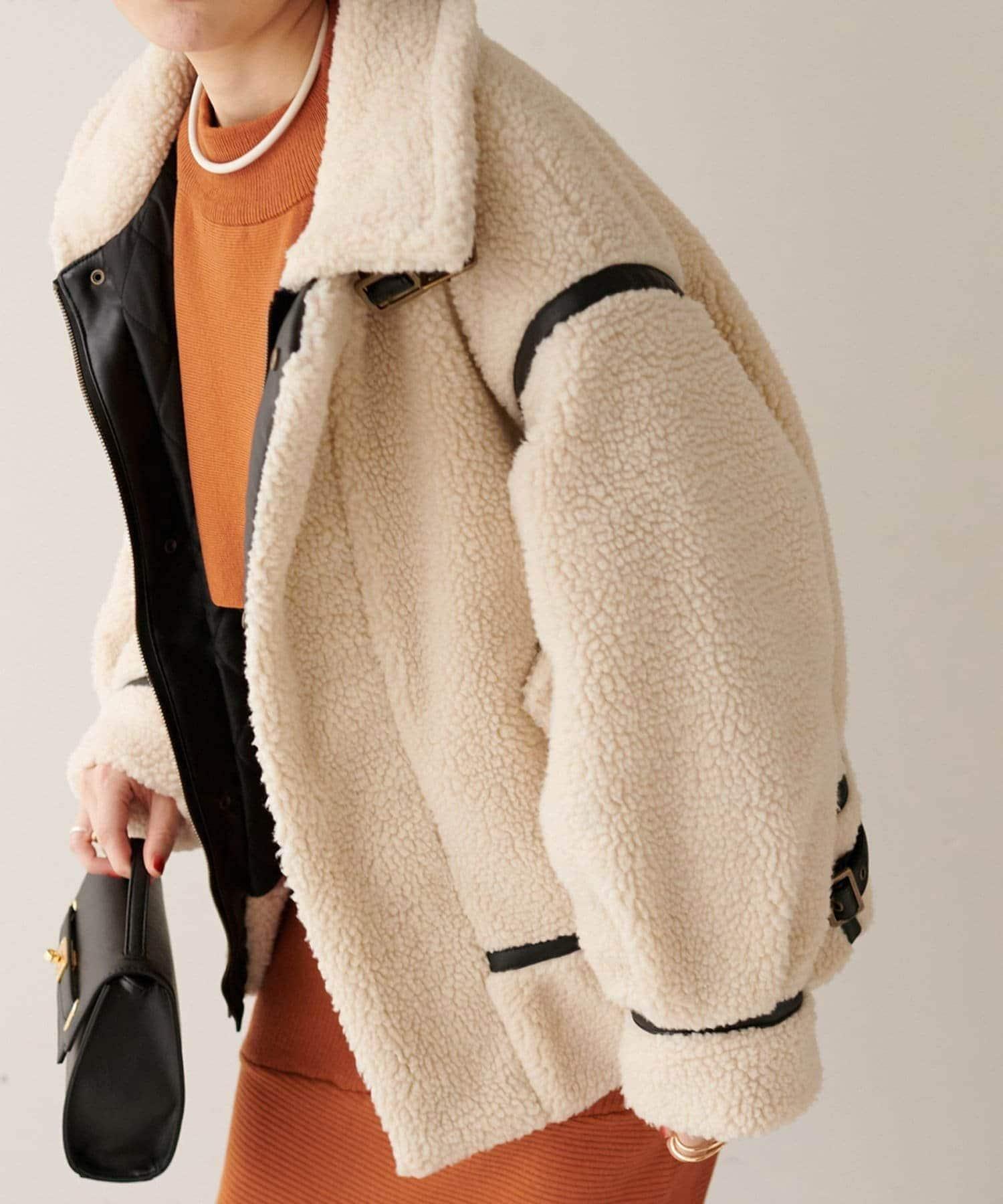 Discoat(ディスコート) ボアパイピングB3ジャケット