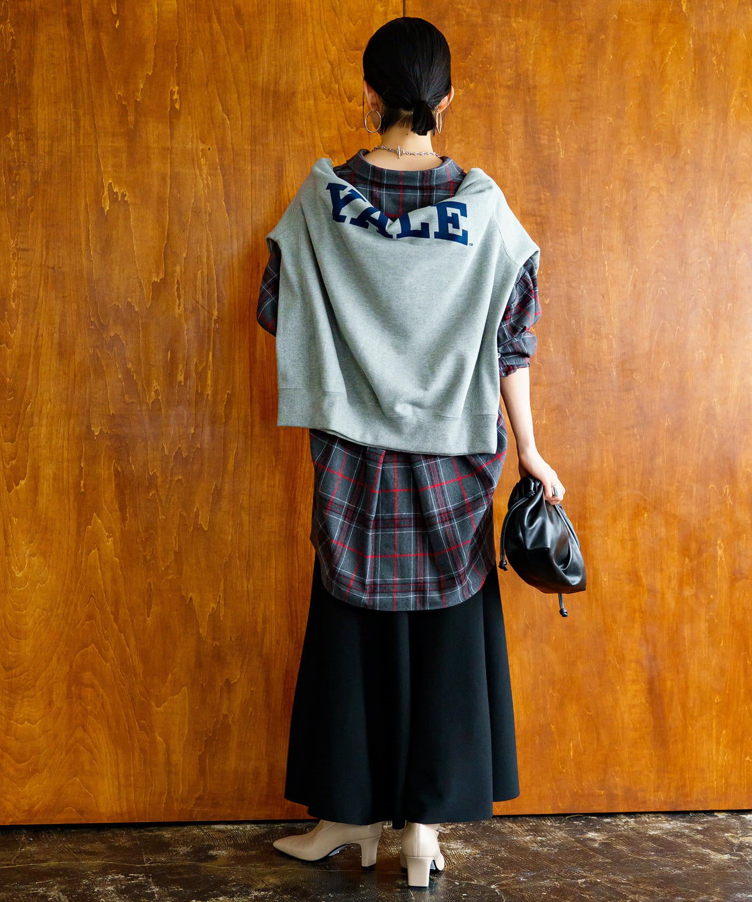 Loungedress(ラウンジドレス) チェックシャツ