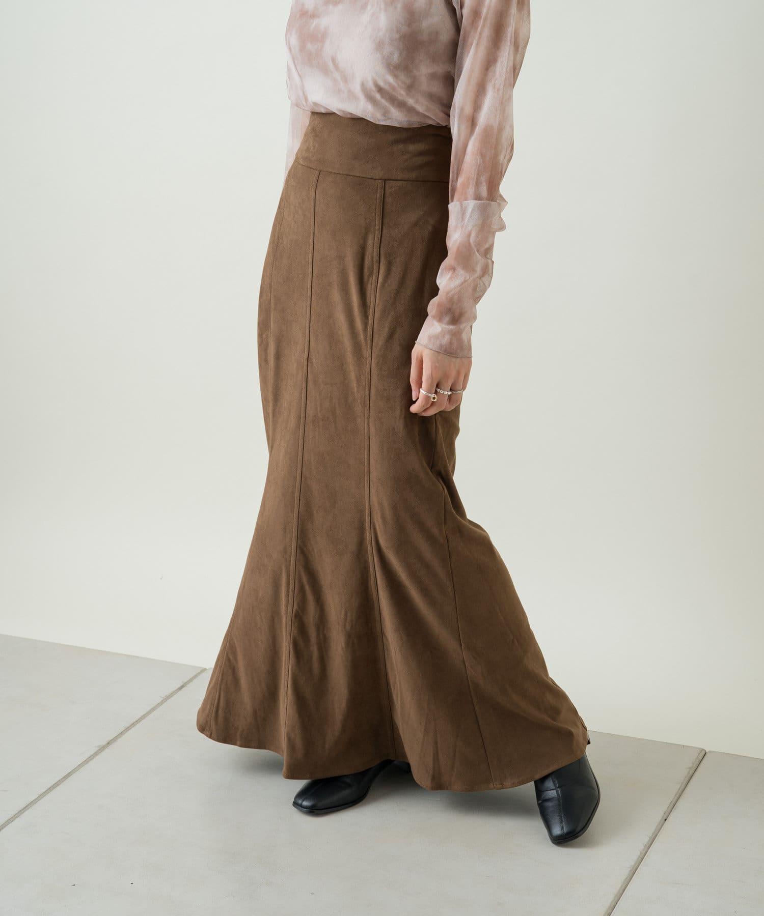 Kastane(カスタネ) 【SETUP対応】SETUPミリタリーマーメイドスカート