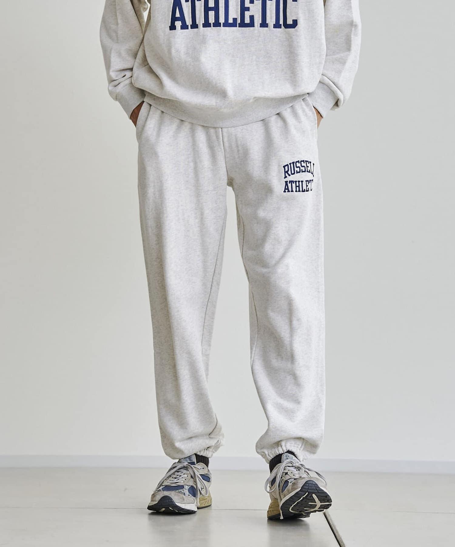 CPCM(シーピーシーエム) 【Russell Athletic】1ポイント刺繍スウェットパンツ