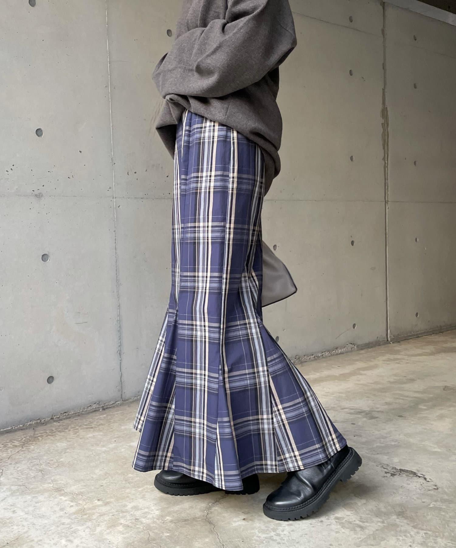 DOUDOU(ドゥドゥ) 【WEB限定】チェックスカート