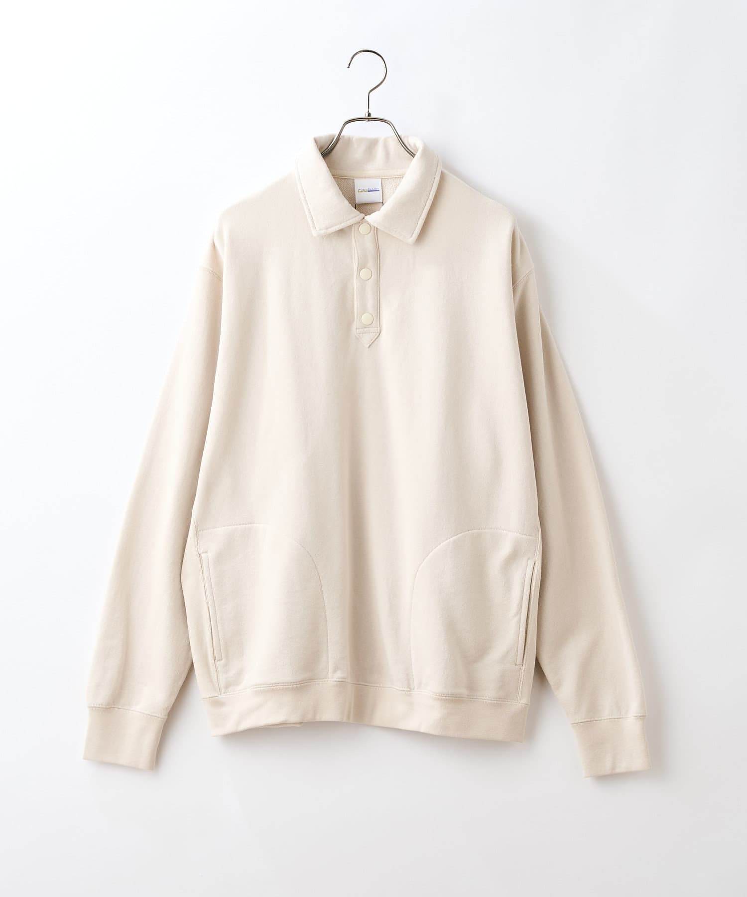 CIAOPANIC(チャオパニック) ポロシャツスウェット