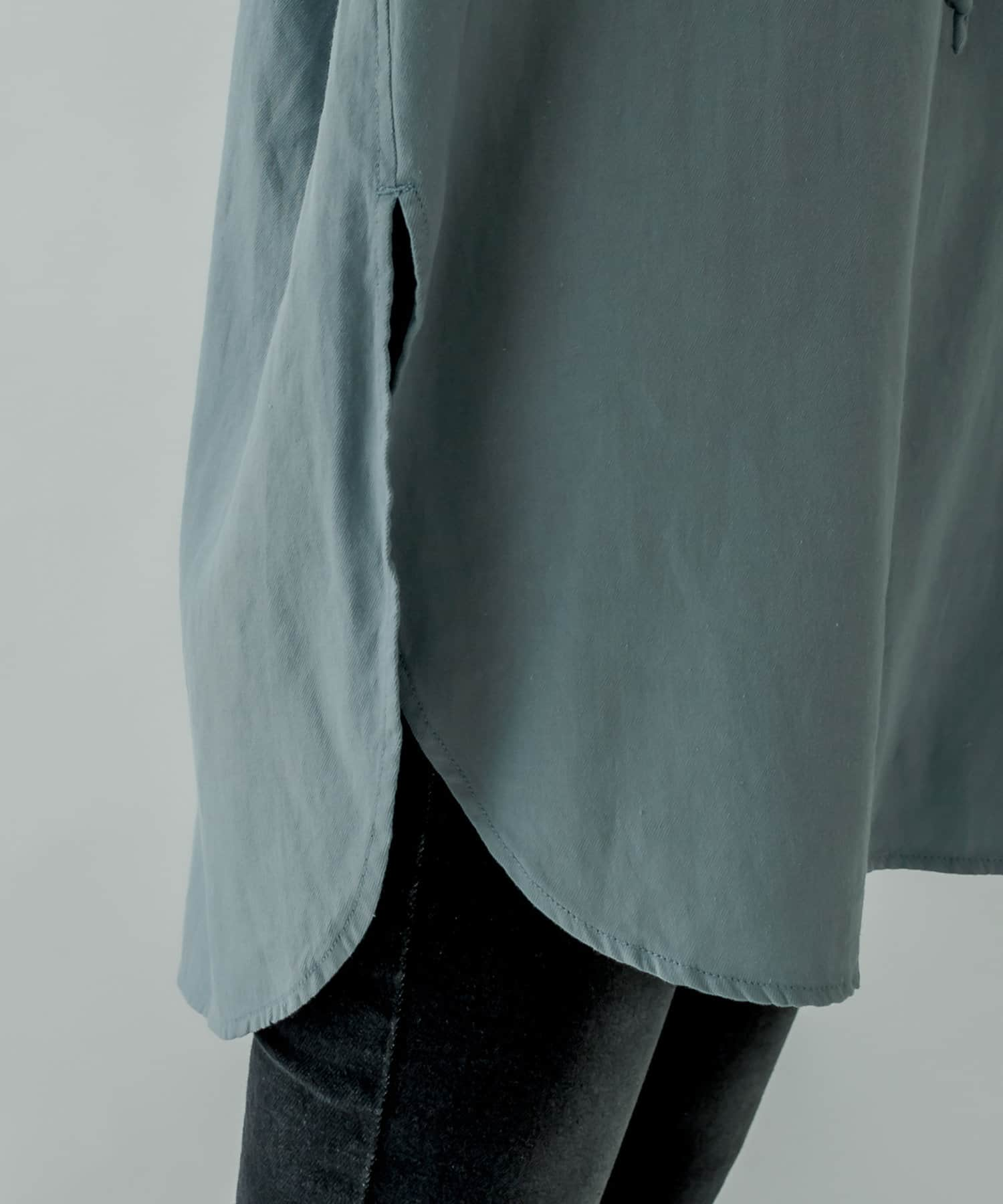 mystic(ミスティック) ボリュームレースアップシャツ