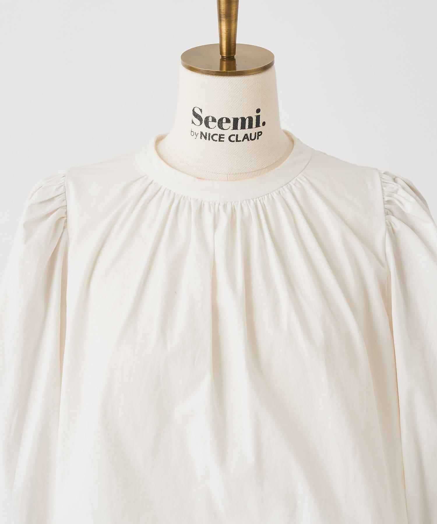 Seemi.by NICE CLAUP(シーミーバイナイスクラップ) ブラウスセットワンピース