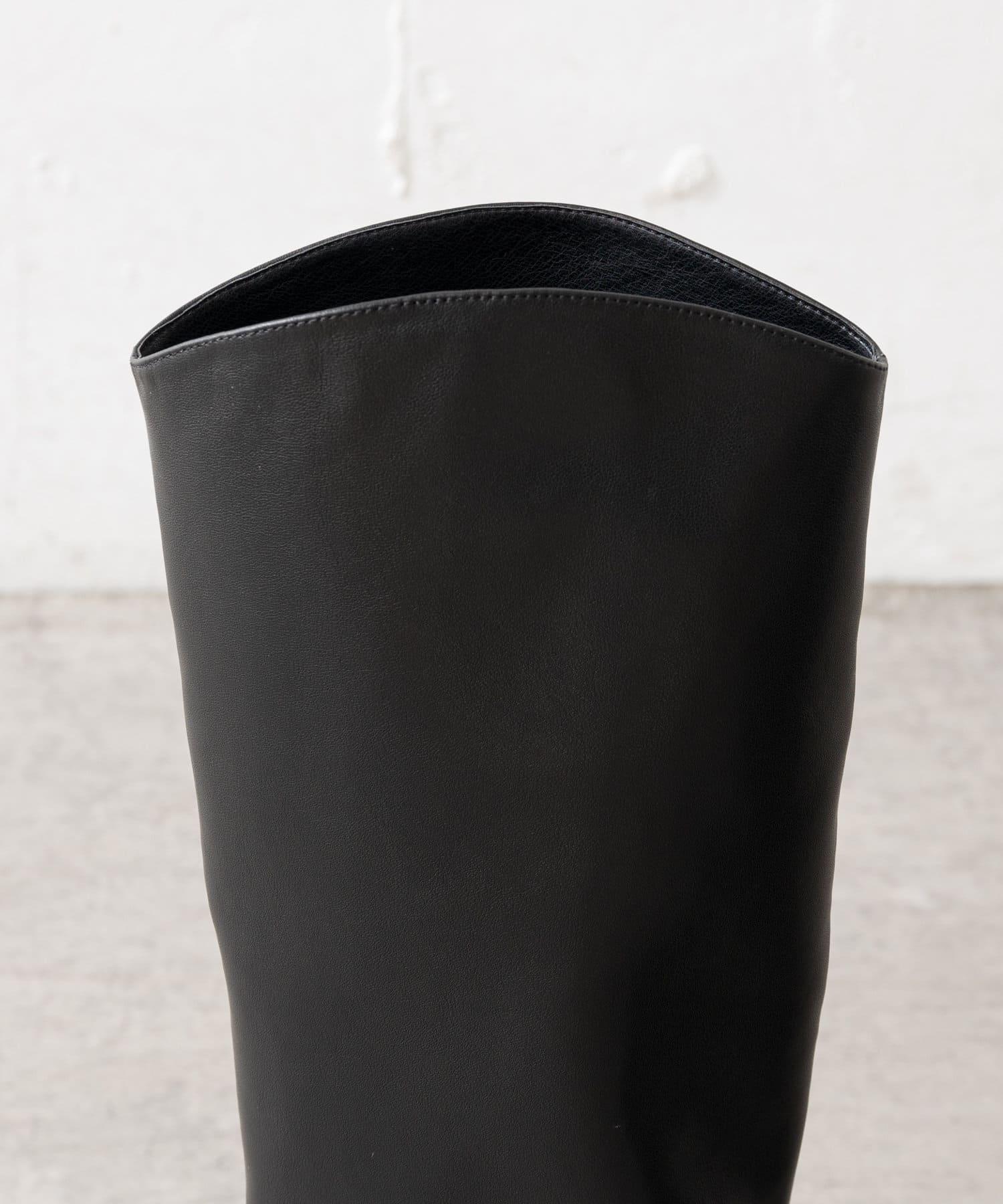 SHENERY(シーナリー) カウレザーロングブーツ