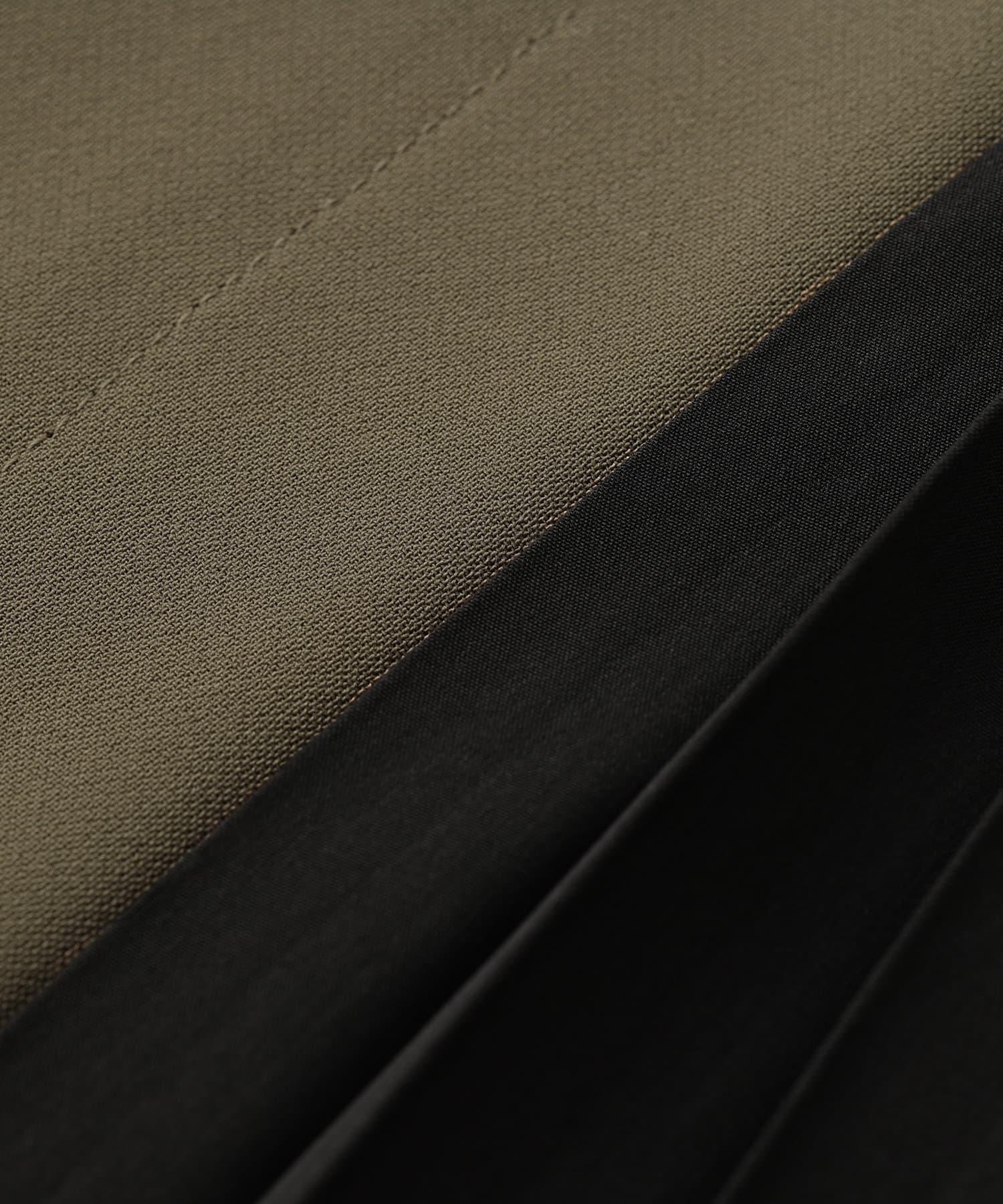 RIVE DROITE(リヴドロワ) 【スタイリングをモードに引き締める】サイドプリーツパンツ