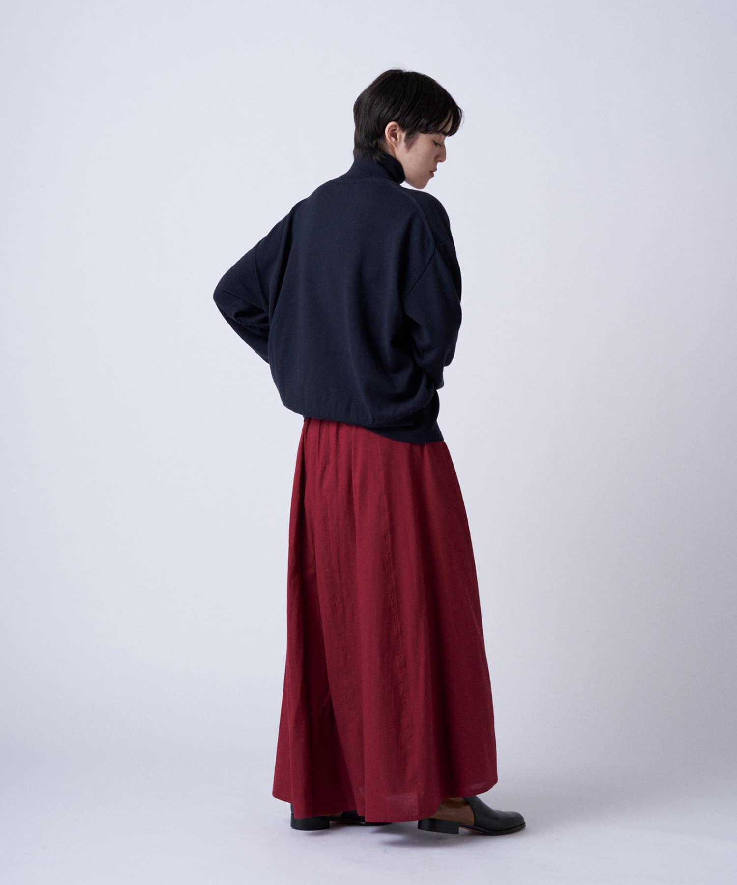 BLOOM&BRANCH(ブルームアンドブランチ) Phlannèl / Cotton Silk Maxi Skirt