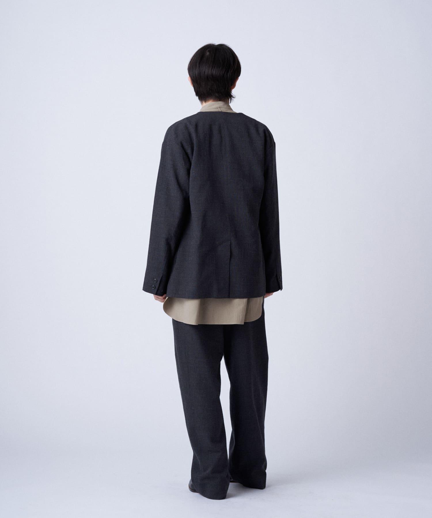 BLOOM&BRANCH(ブルームアンドブランチ) Phlannèl / womens Loop Yarn Jacket