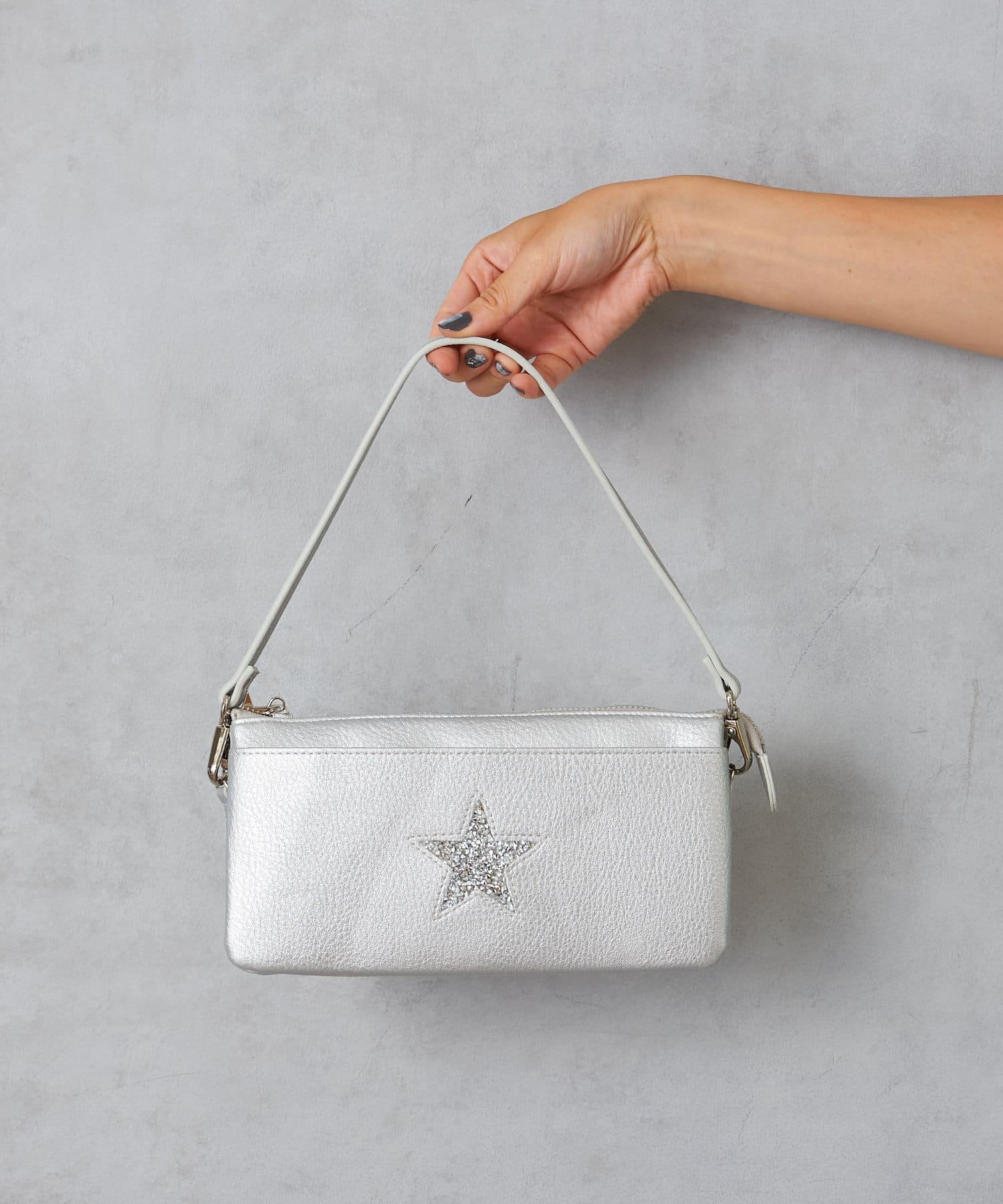 Pal collection(パルコレクション) 《華やかにキラキラ輝く》スターウォレットバッグ