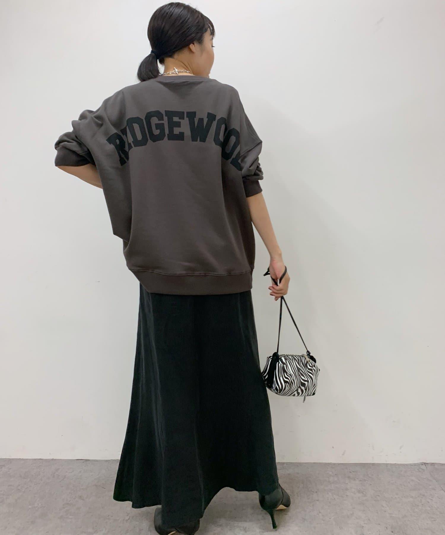 Loungedress(ラウンジドレス) バックロゴプルオーバー