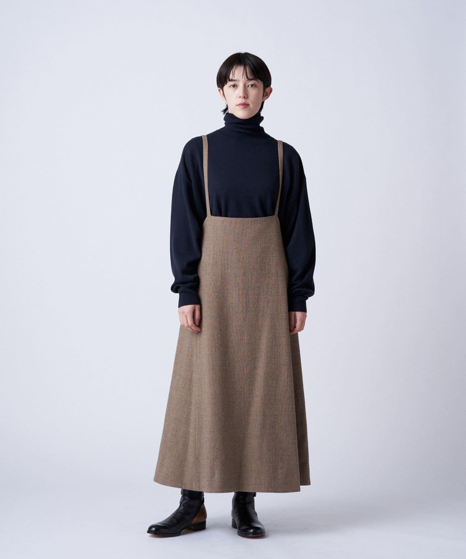 BLOOM&BRANCH(ブルームアンドブランチ) Phlannèl / womens Loop Yarn Skirt