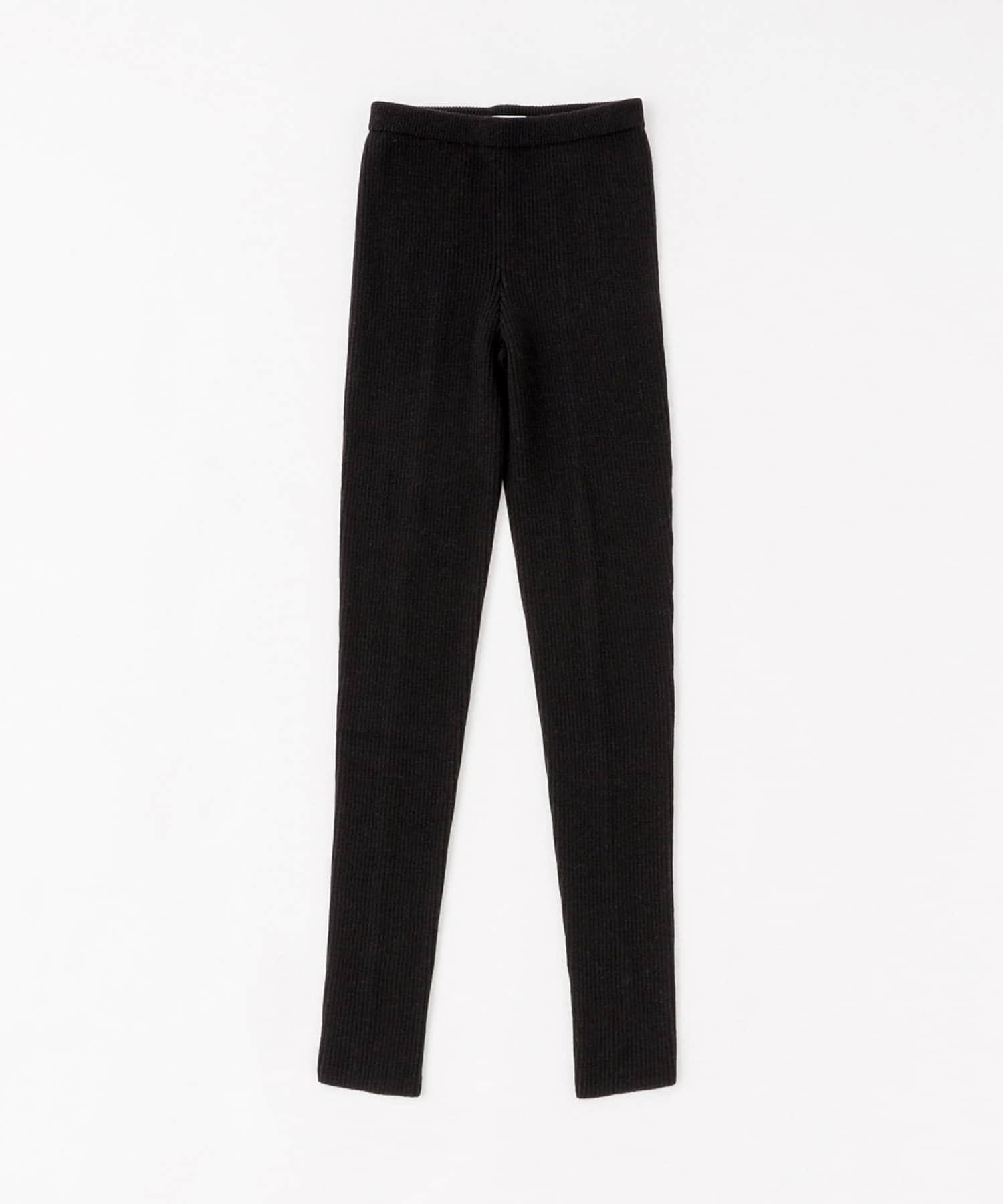 BLOOM&BRANCH(ブルームアンドブランチ) Phlannèl / Wool Knit Rib Pants