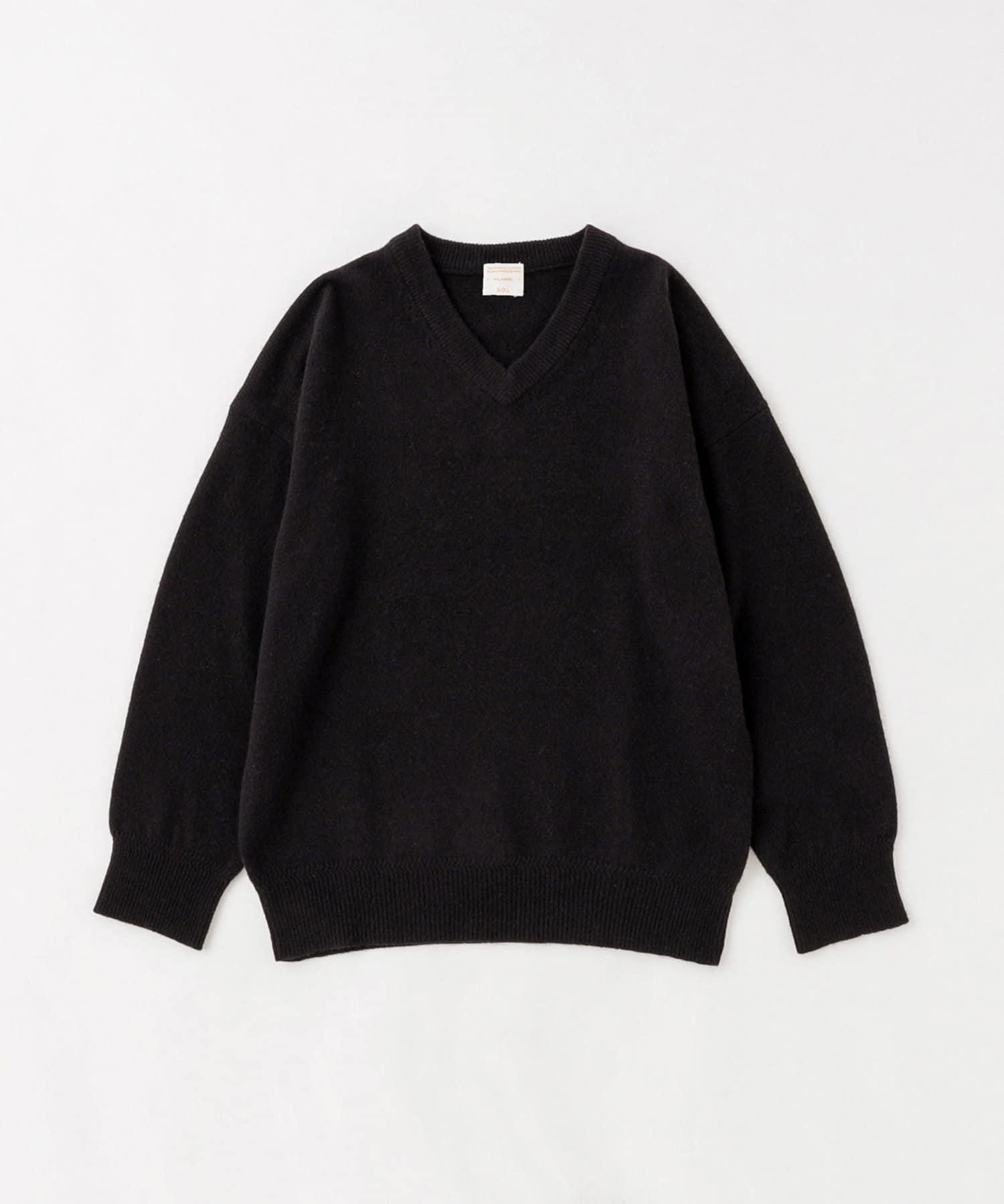 BLOOM&BRANCH(ブルームアンドブランチ) PHLANNÈL SOL / mens  Yak V-neck Knit