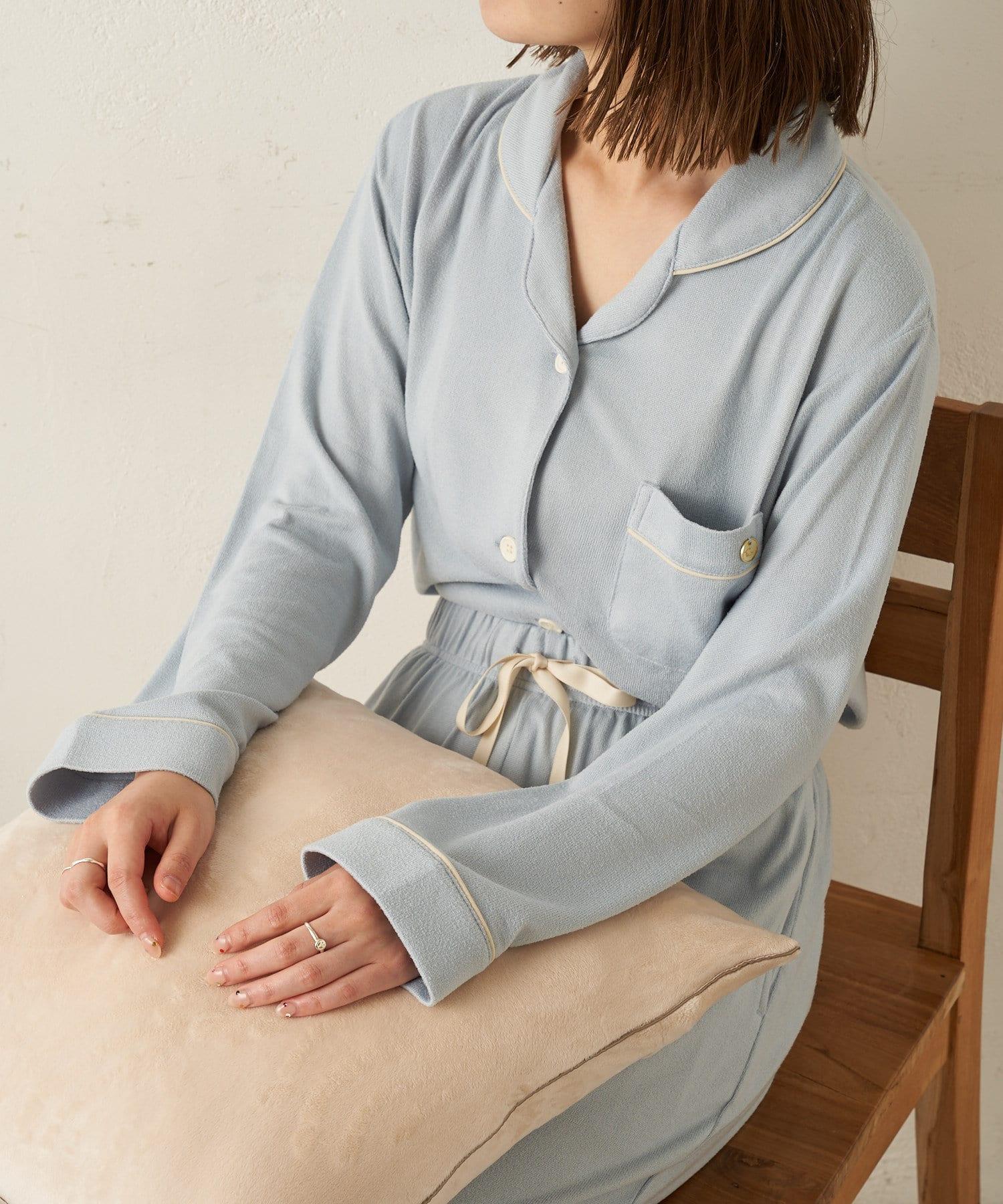 TERRITOIRE(テリトワール) ホイップニットパジャマ 上下セット