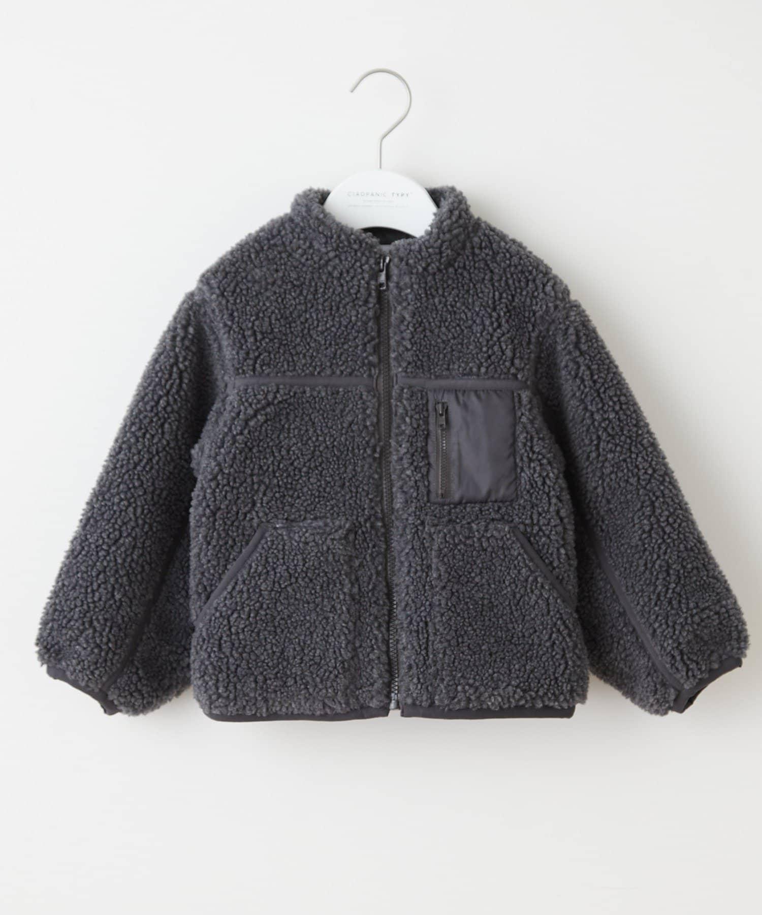 CIAOPANIC TYPY(チャオパニックティピー) 【KIDS】OSOROパイピングボアジャケット