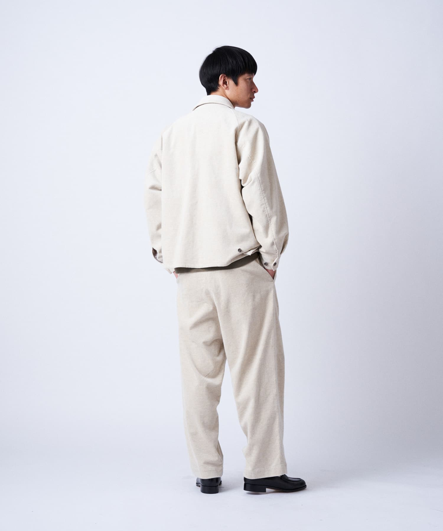 BLOOM&BRANCH(ブルームアンドブランチ) PHLANNÈL SOL / mens Harrington Jacket