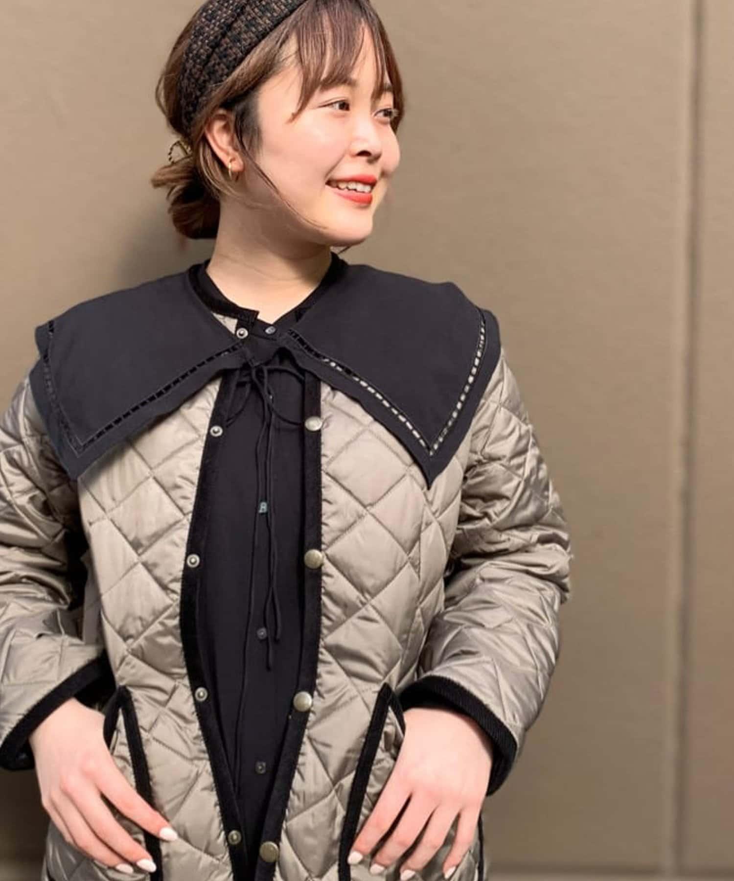 un dix cors(アンディコール) 【トレンドの衿デザインで華やかに】2wayつけ衿ワンピース