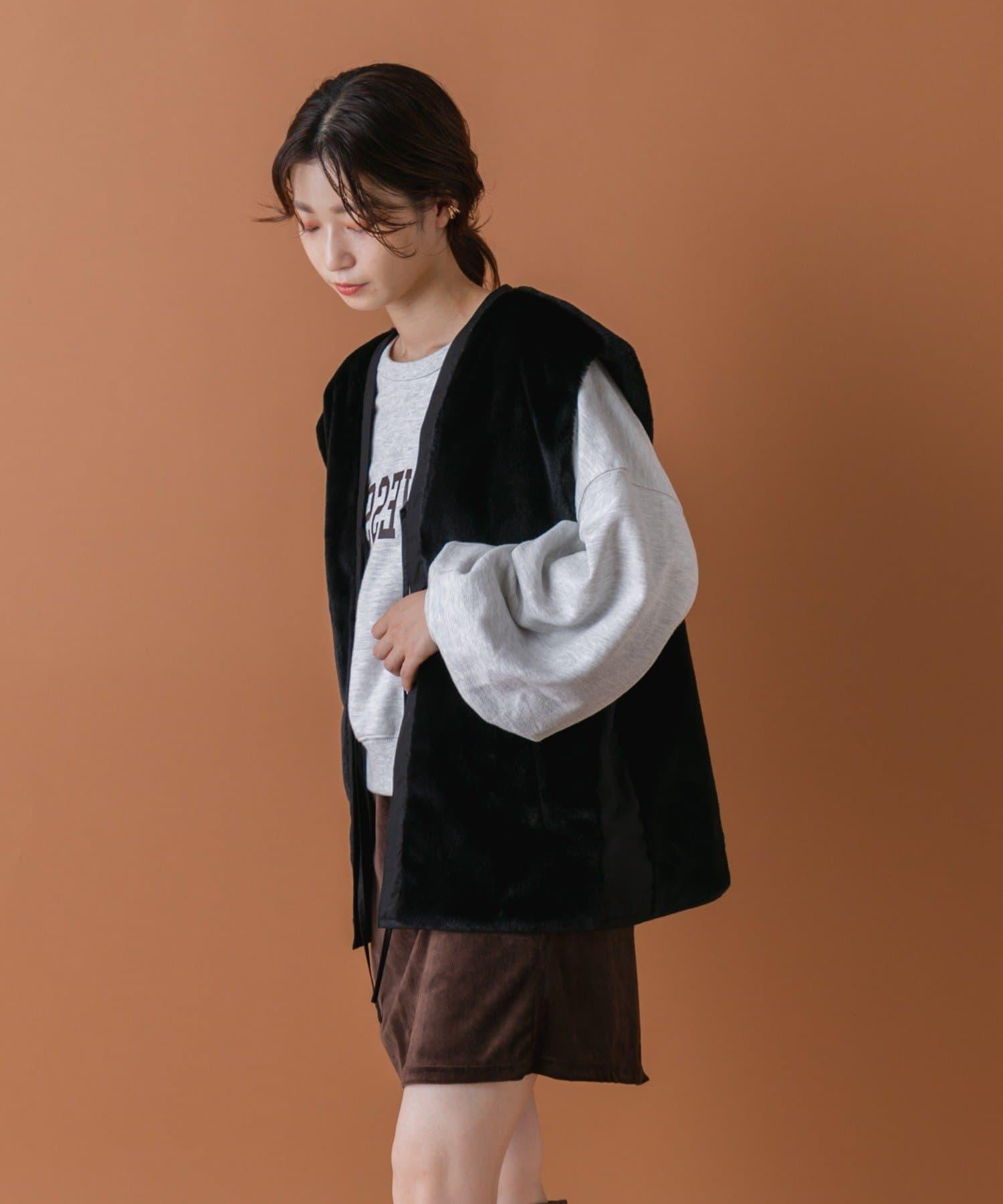 Kastane(カスタネ) 【マルチウェイ】マルチウェイベスト付きミリタリーコート