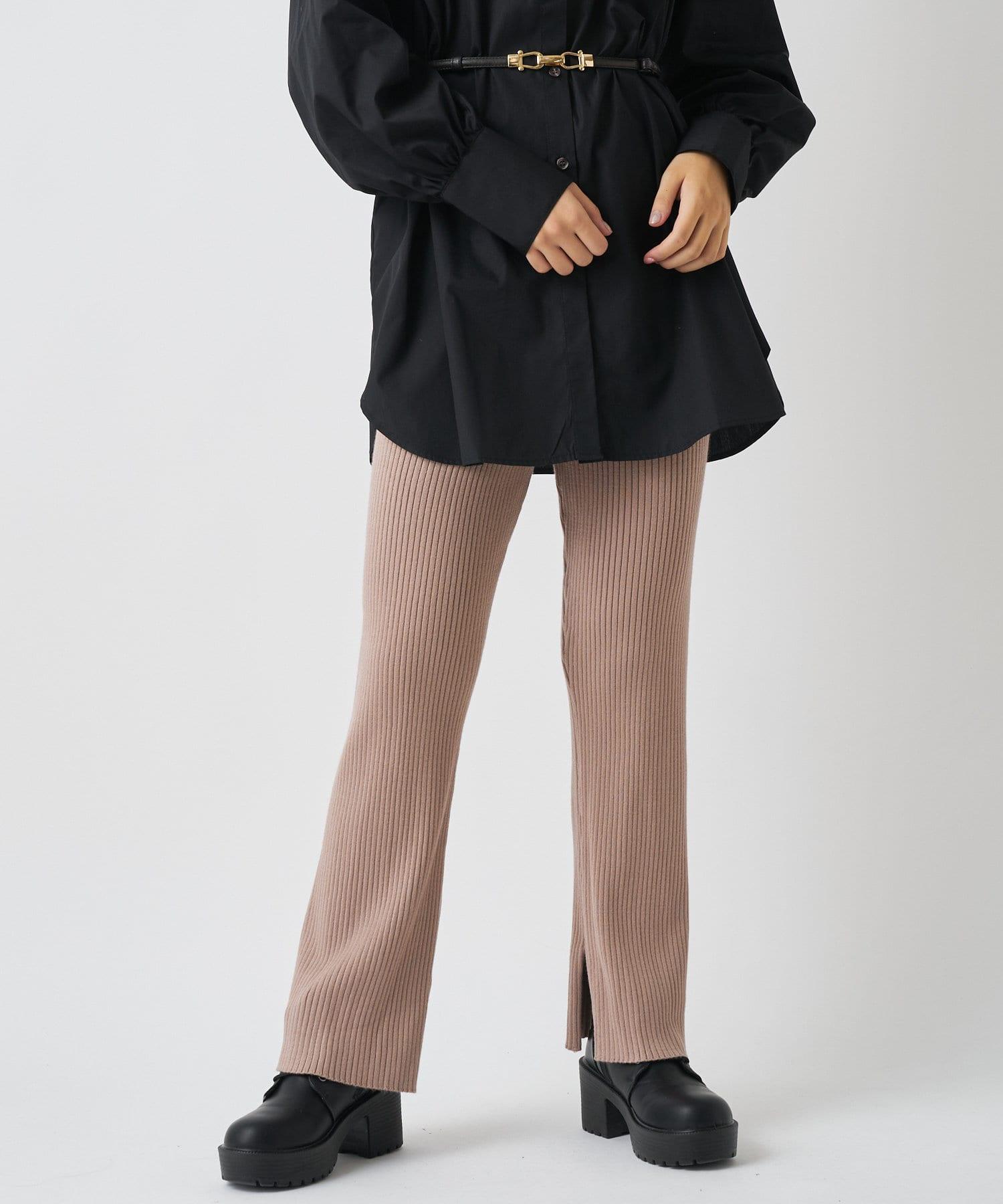 OLIVE des OLIVE OUTLET(オリーブ・デ・オリーブ アウトレット) 【dsf】Knit pants