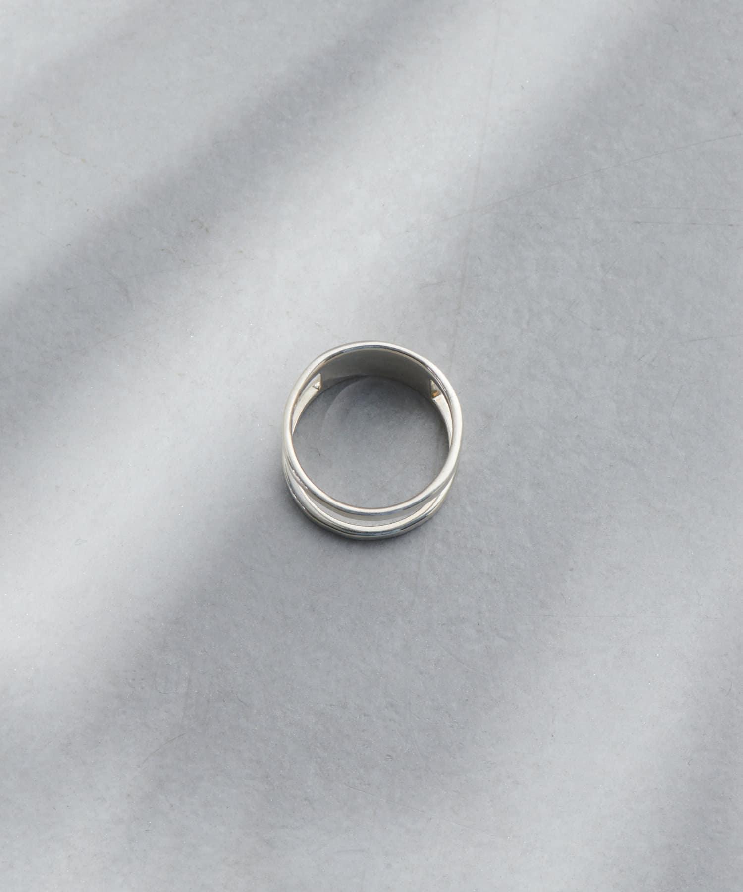 Discoat(ディスコート) AZ double bar ring