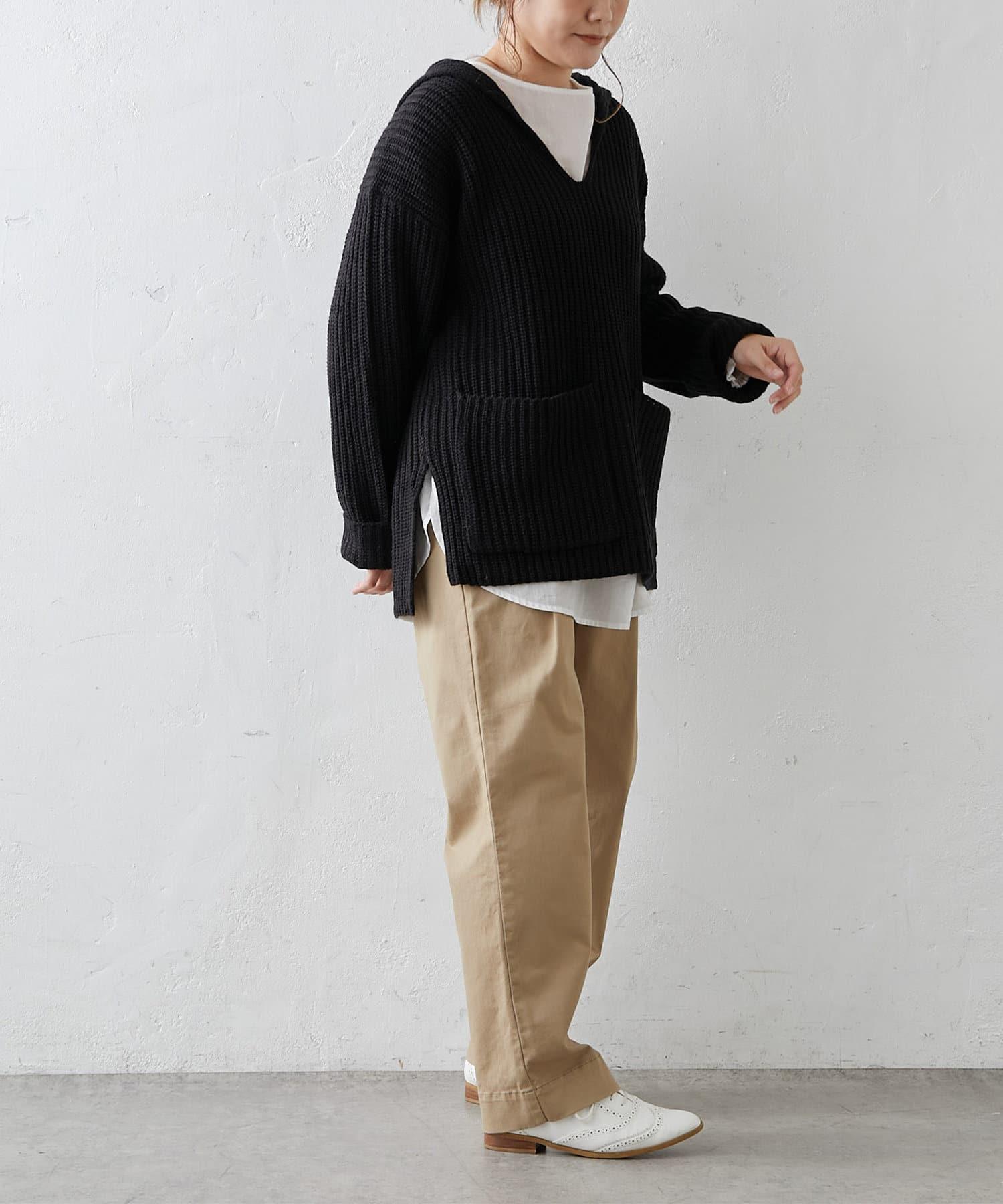 pual ce cin(ピュアルセシン) JAPAN MADEストレッチストレートパンツ