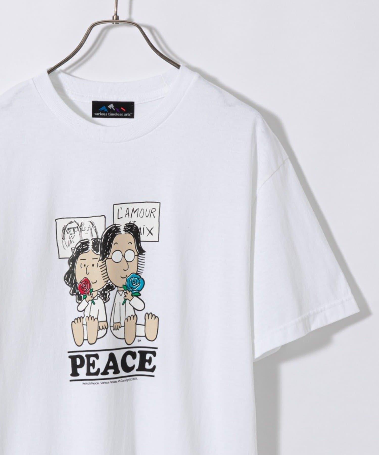OUTLET(アウトレット) メンズ 【Ciaopanic】トップスターJ.YプリントTシャツ ホワイト