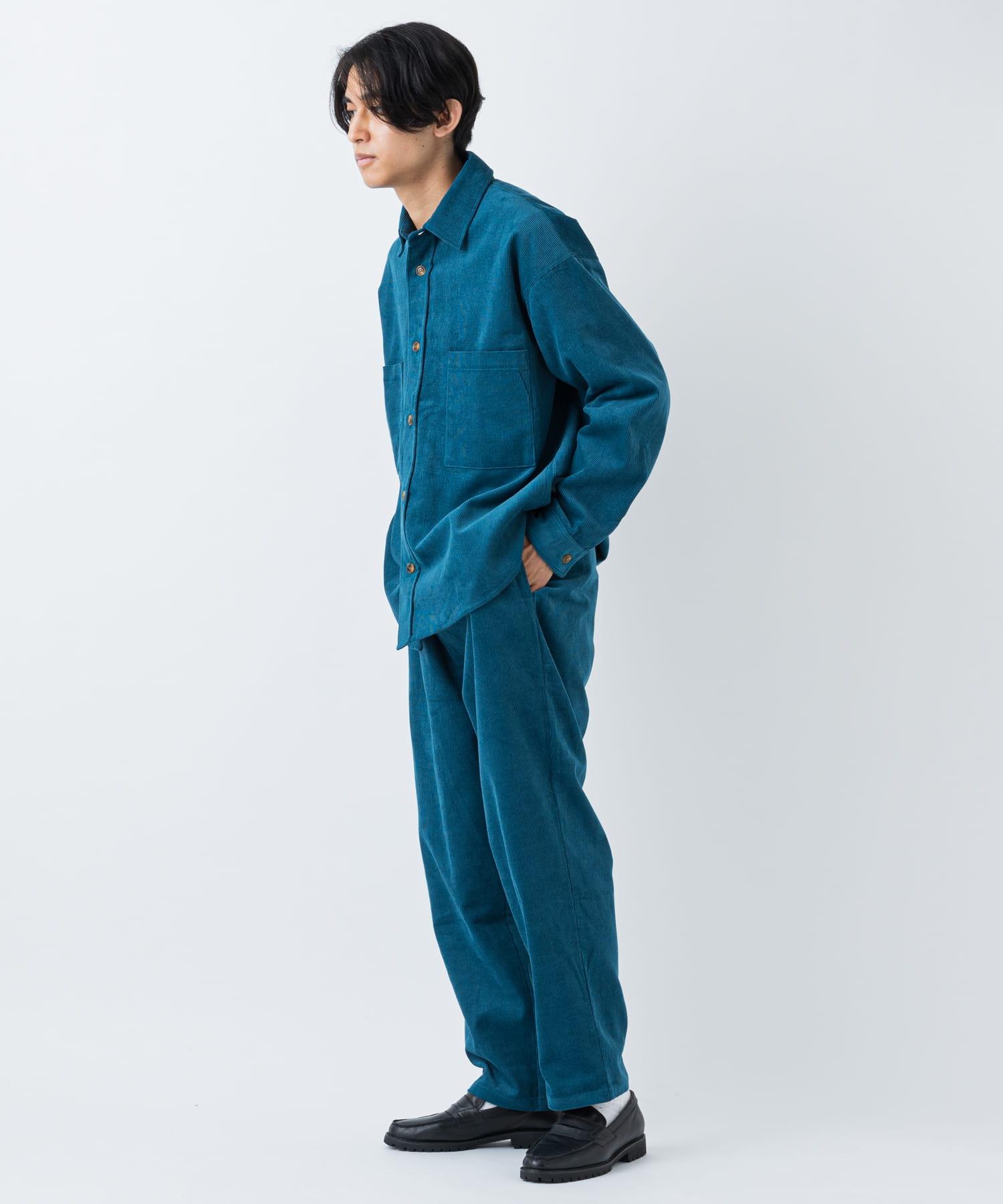 CIAOPANIC(チャオパニック) 【WEB限定】コーデュロイスケートオーバーサイズシャツジャケット