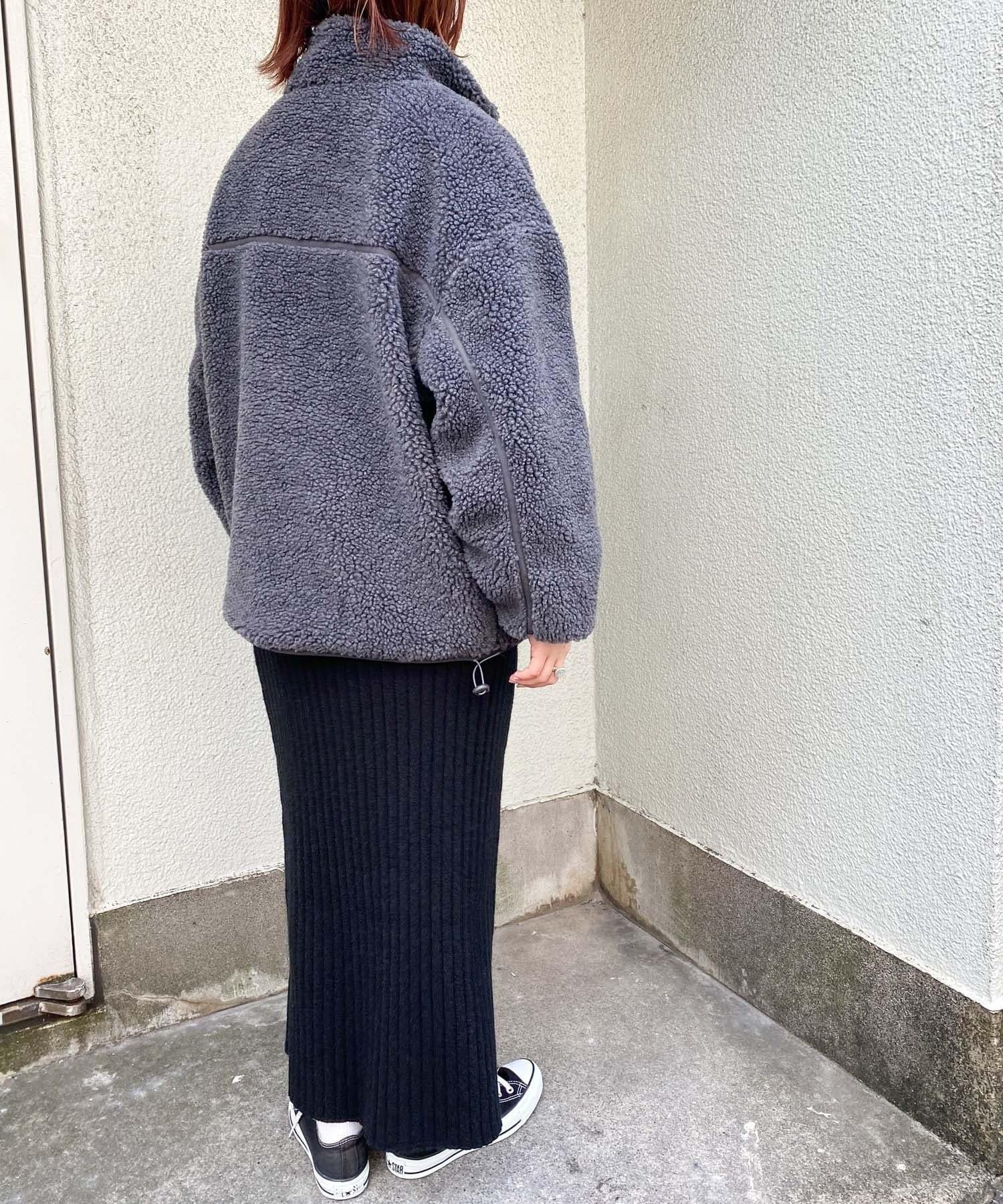 CIAOPANIC TYPY(チャオパニックティピー) 【OSORO】パイピングボアジャケット